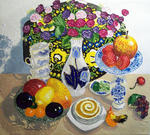 Artist Musina Julia - Fruit still life. Fruit s..