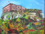 Mazouz Patrice - Fort Belfort in autumn Oil / canvas al Artist