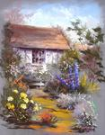 Breton Michel - the house in the garden