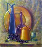 Tanya Andreeva - Still life with blue carafe