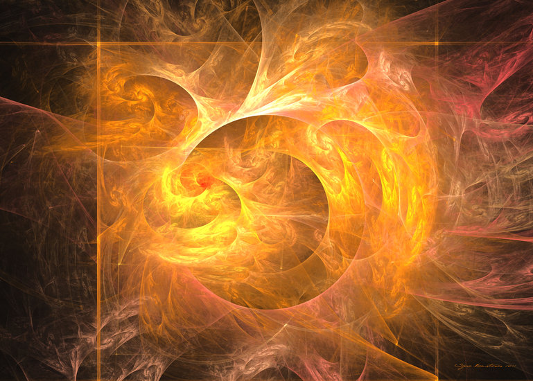 Eternal flame by Sipo Liimatainen | Print On Canvas | ArtsDot.com