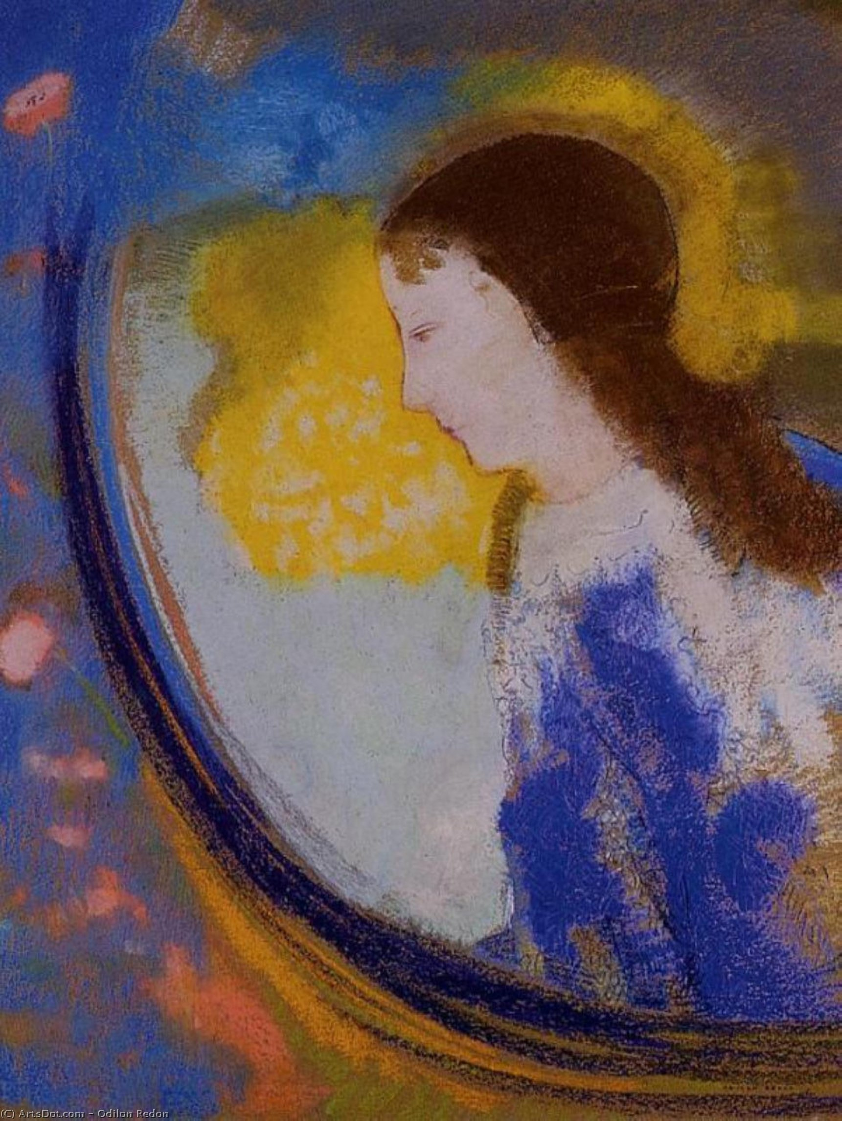 The Child in a Sphere of Light, 1900 by Odilon Redon (1840-1916, France) | Art Reproduction | ArtsDot.com