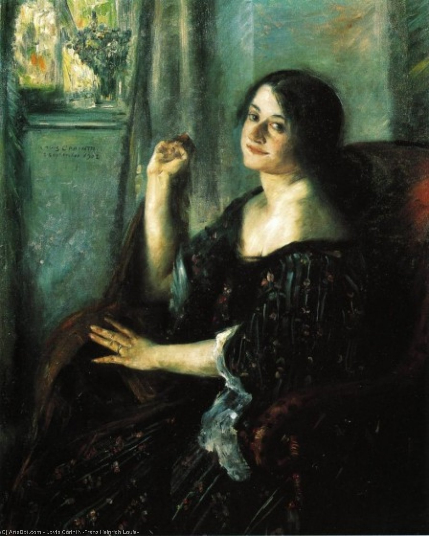 Petermannchen, Oil On Canvas by Lovis Corinth (Franz Heinrich Louis) (1858-1925, Netherlands)