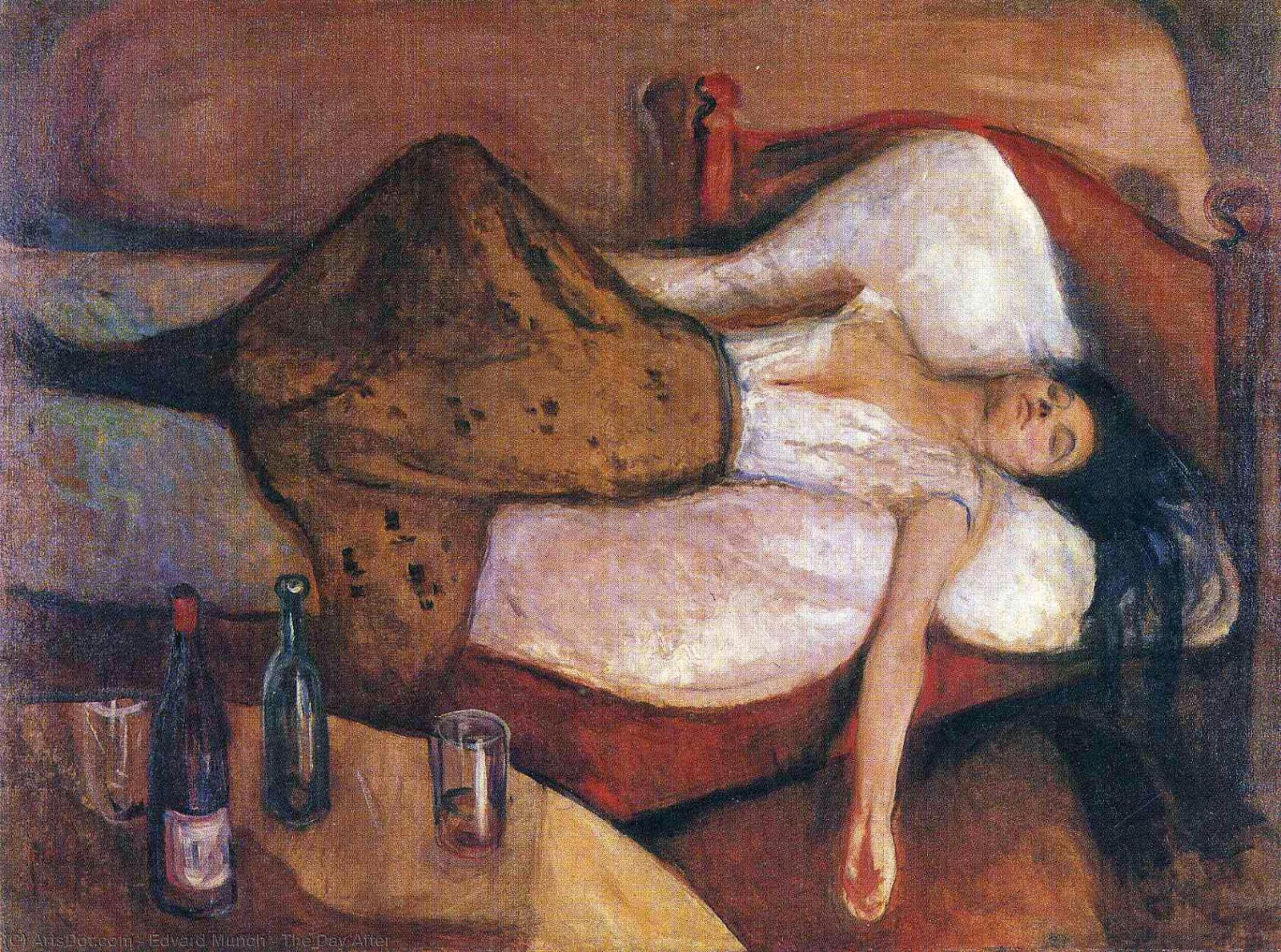The Day After, 1895 by Edvard Munch (1863-1944, Sweden) | Oil Painting | ArtsDot.com