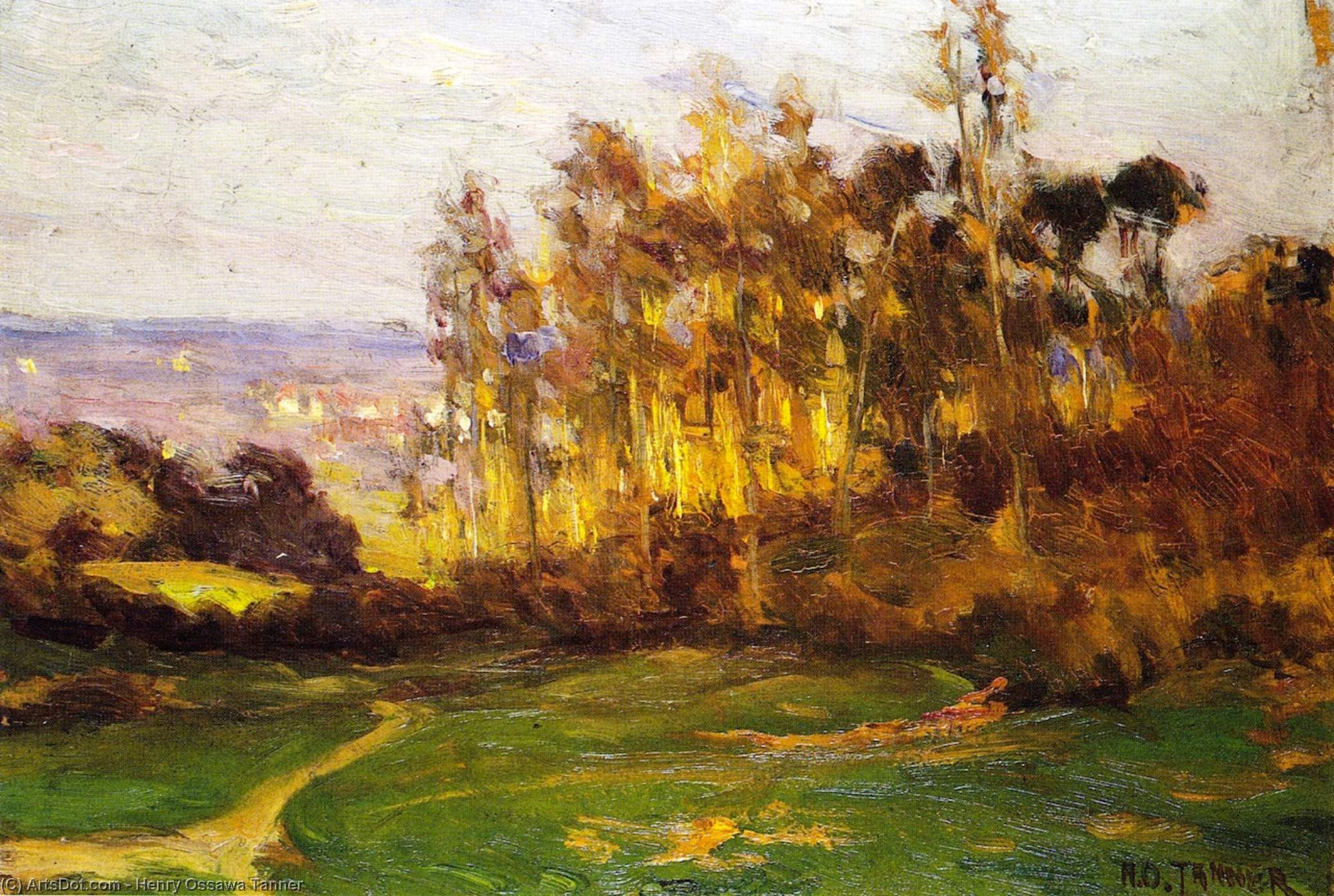 Order Museum Quality Reproductions : Edge of the Forest, 1893 by Henry Ossawa Tanner (1859-1937, United States) | ArtsDot.com