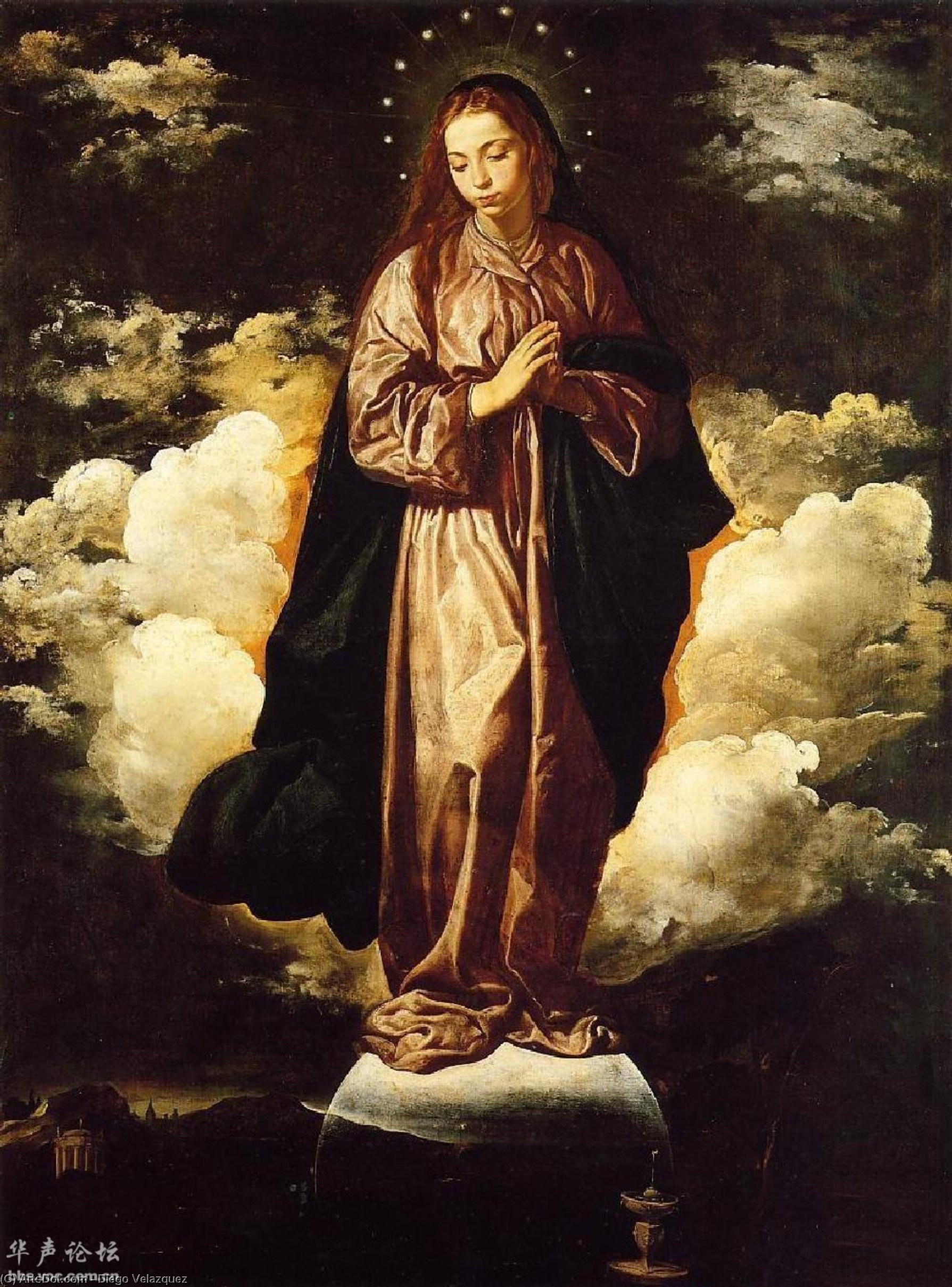 The Immaculate Conception, Oil On Canvas by Diego Velazquez (1599-1660, Spain)