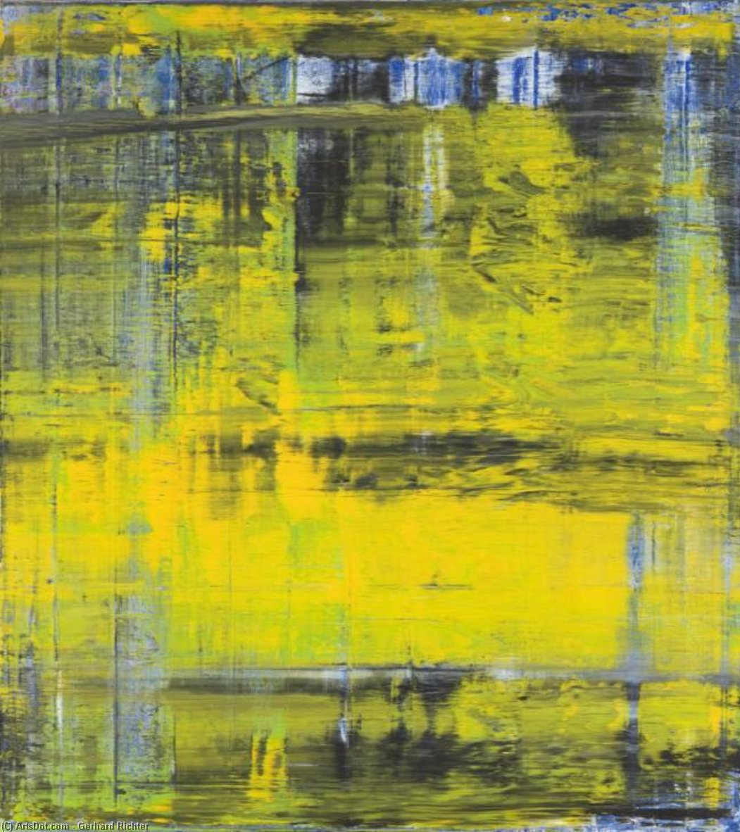 Abstract Picture, 1994 by Gerhard Richter | Oil Painting | ArtsDot.com