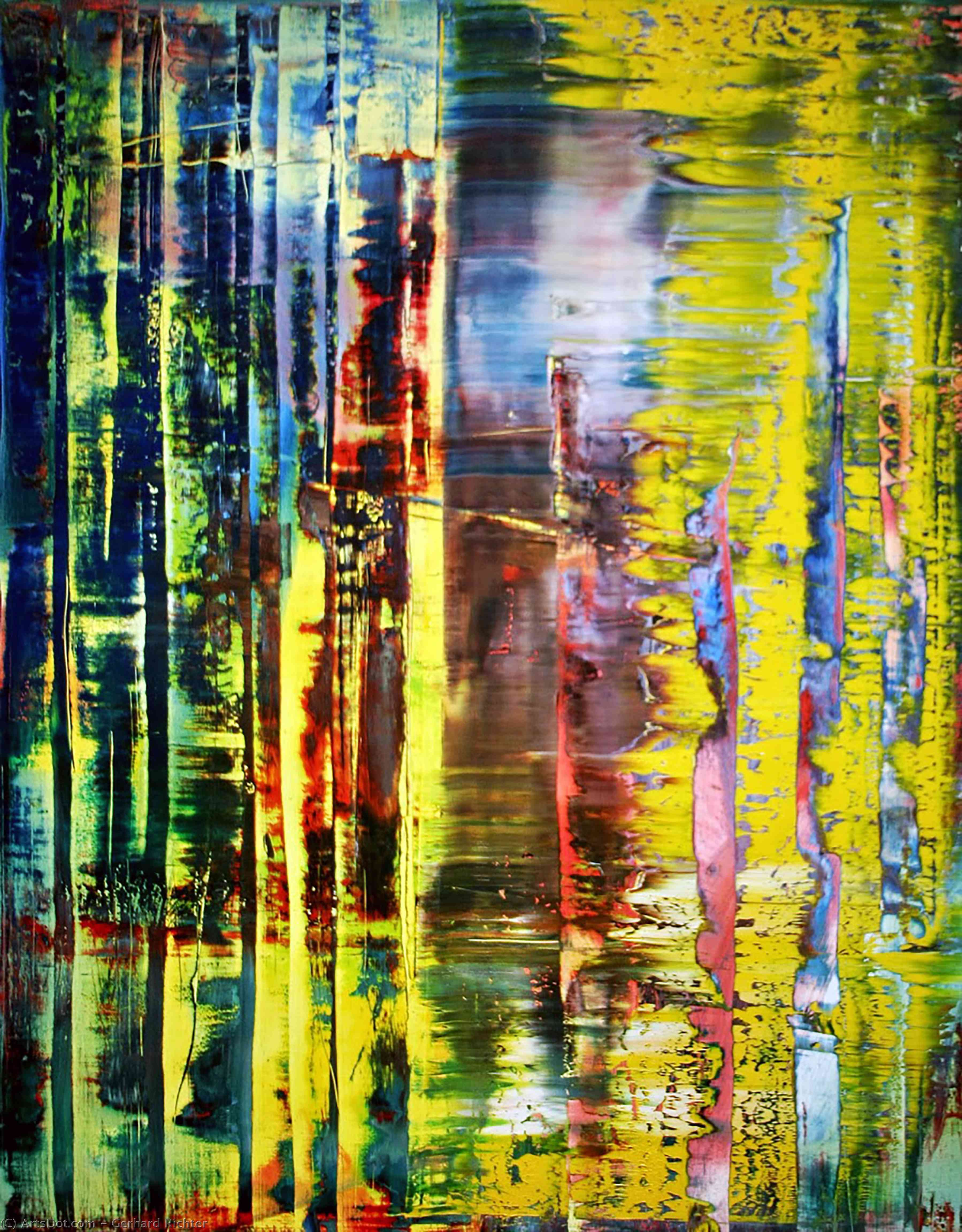 Abstract Painting 780-1, Oil On Canvas by Gerhard Richter