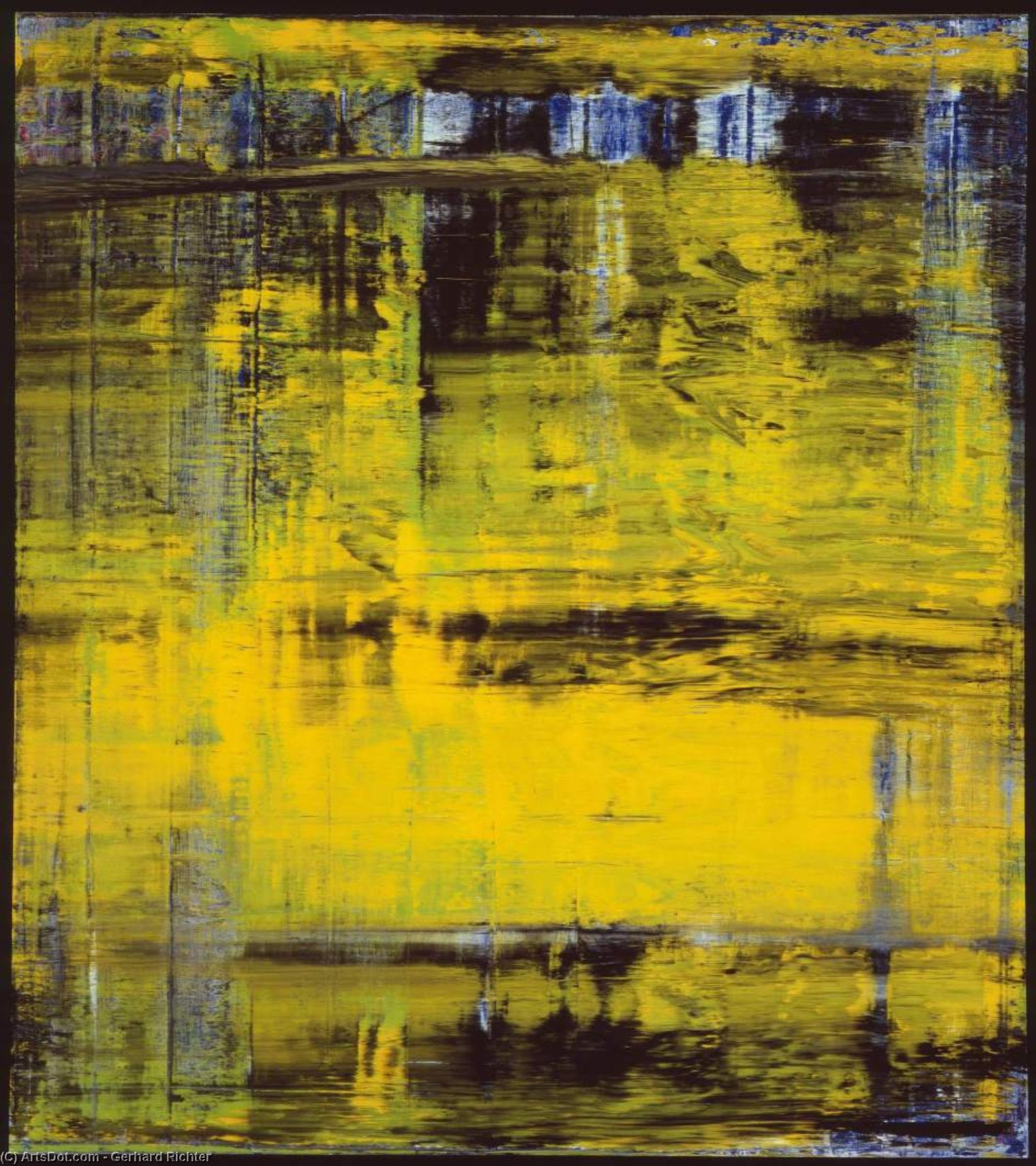Abstract Painting No. 809-3 by Gerhard Richter