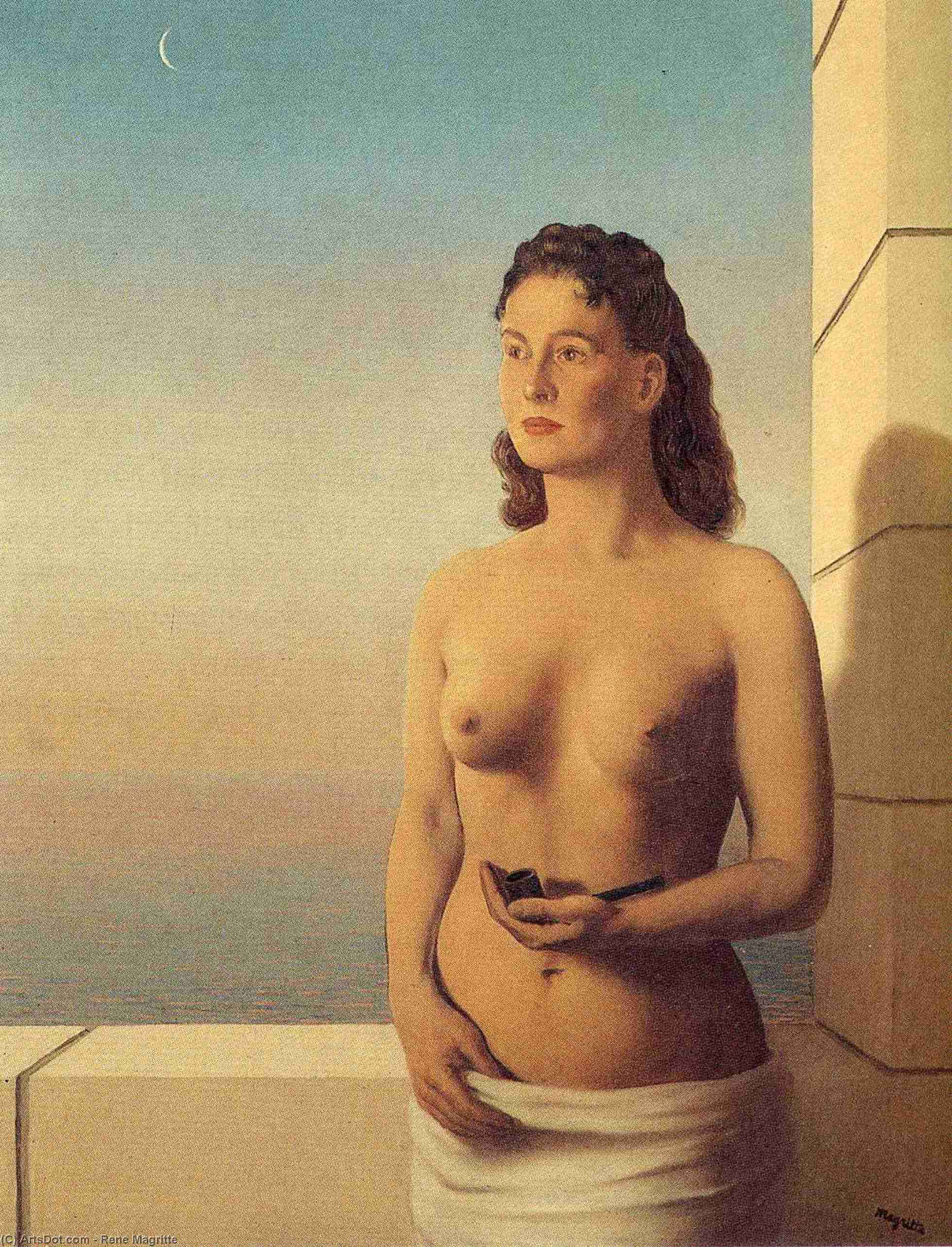 Freedom of Mind, 1948 by Rene Magritte (1898-1967, Belgium)