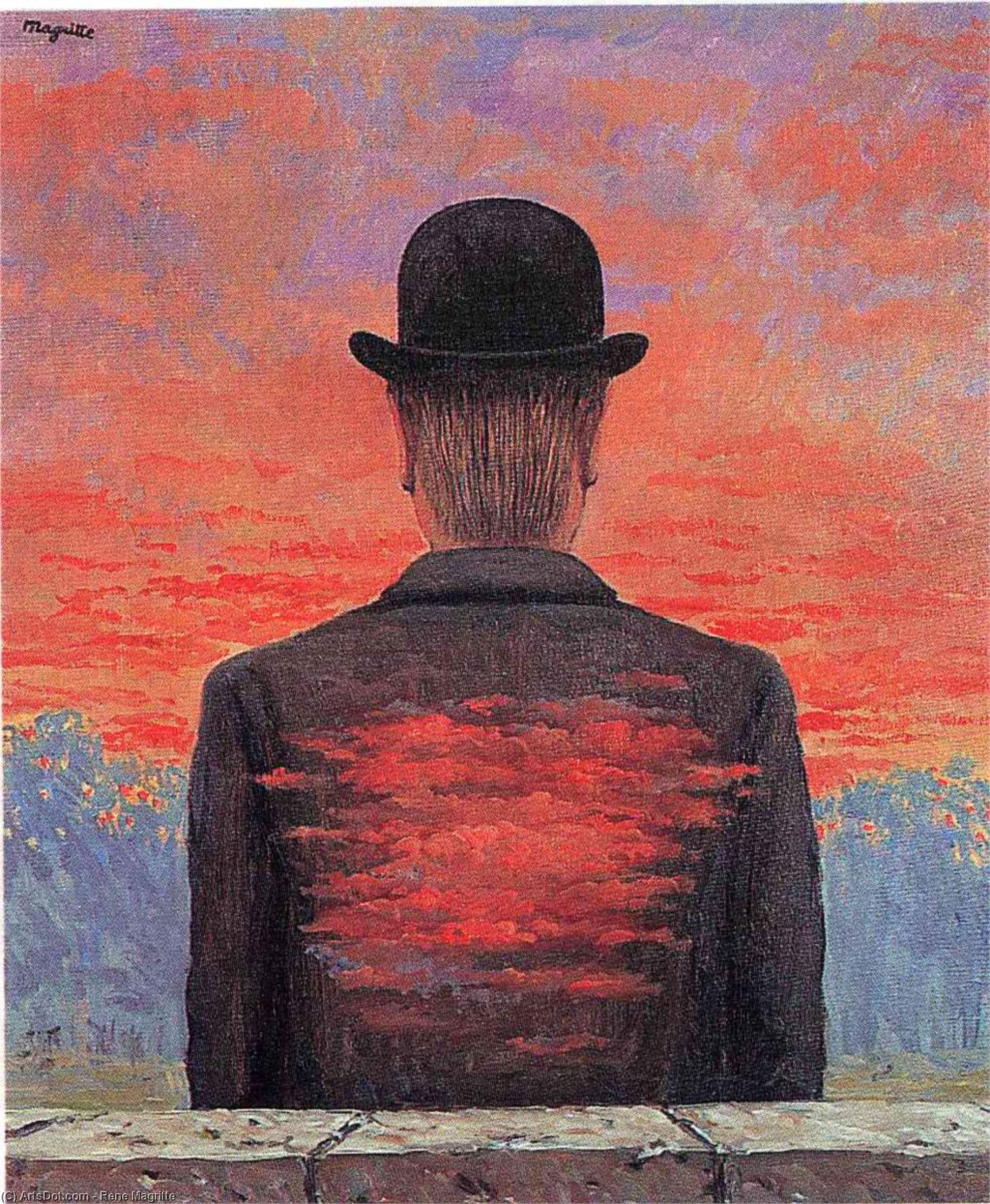 The poet recompensed, 1956 by Rene Magritte (1898-1967, Belgium)