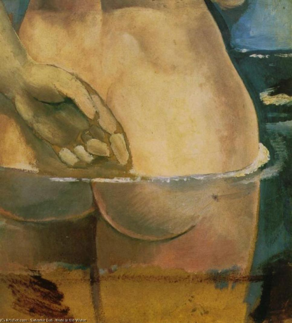 Nude in the Water, 1925 by Salvador Dali (1938-1989, Spain) | Art Reproduction | ArtsDot.com