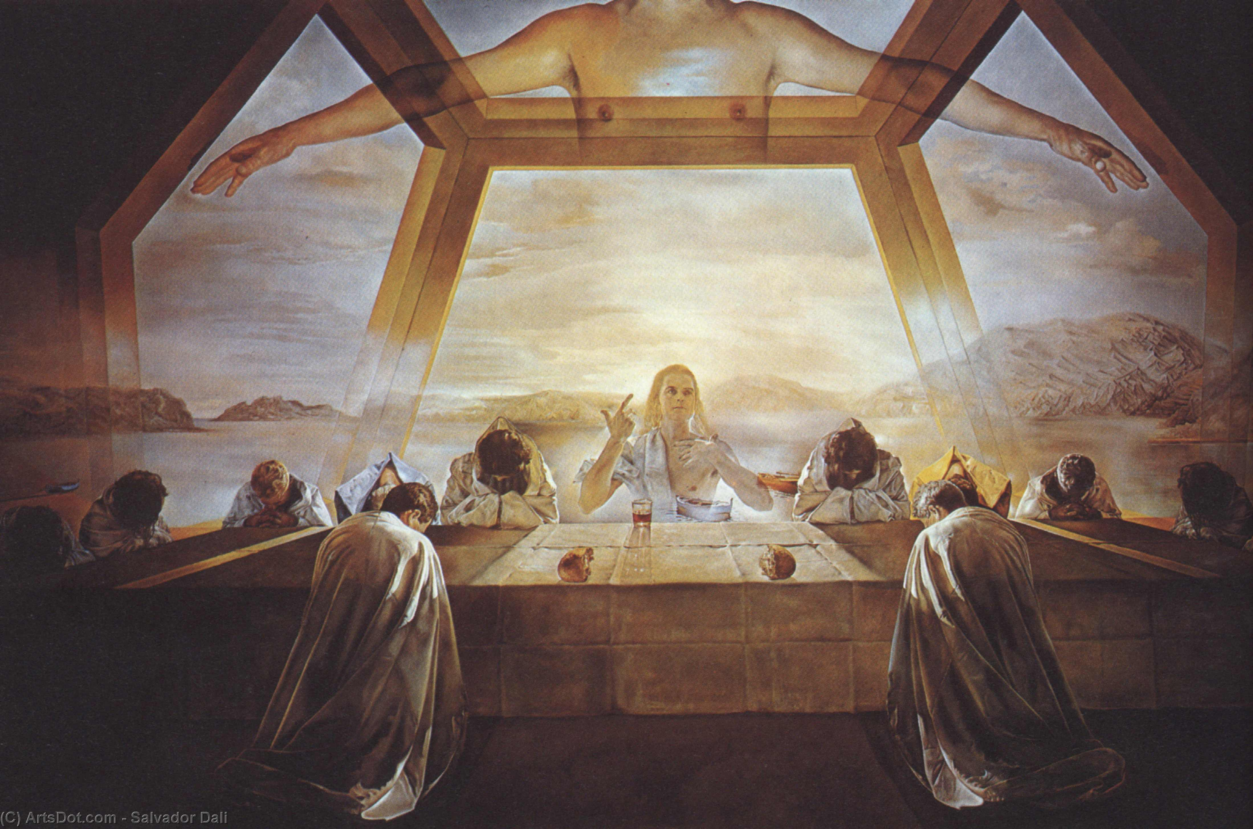 The Sacrament of the Last Supper, 1955 by Salvador Dali (1938-1989, Spain) |  | ArtsDot.com