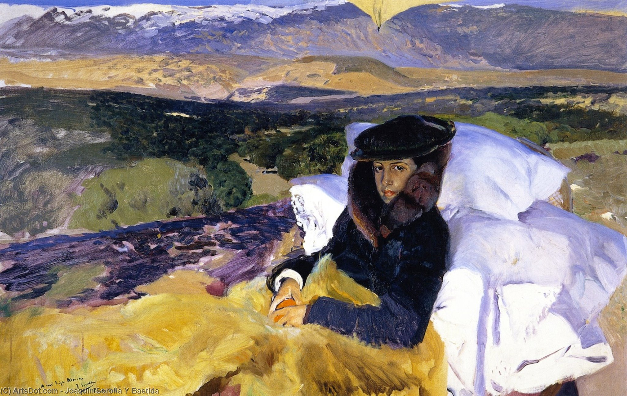 My Daughter's Convalescence (also known as Maria in El Pardo), Oil On Canvas by Joaquin Sorolla Y Bastida (1863-1923, Spain)