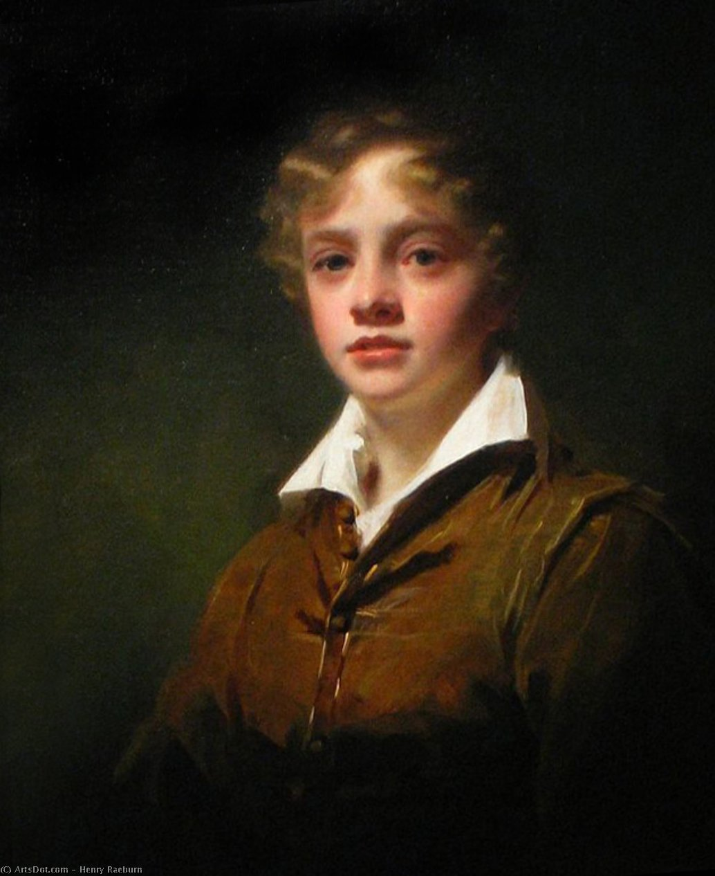 Portrait of William Blair by Henry Raeburn (1756-1823, United Kingdom) | Art Reproduction | ArtsDot.com