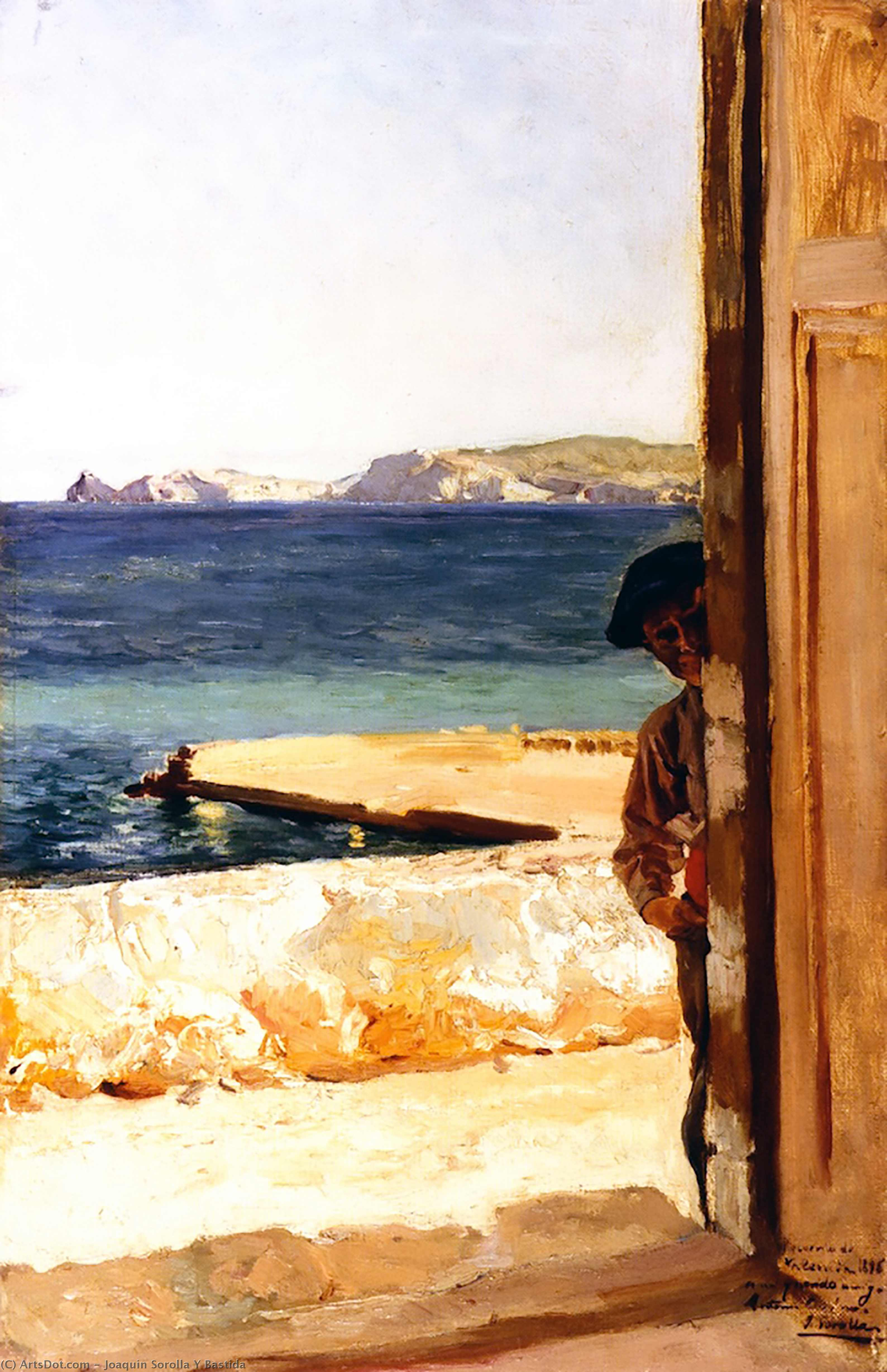 Xiquet de Jávea, Oil On Canvas by Joaquin Sorolla Y Bastida (1863-1923, Spain)