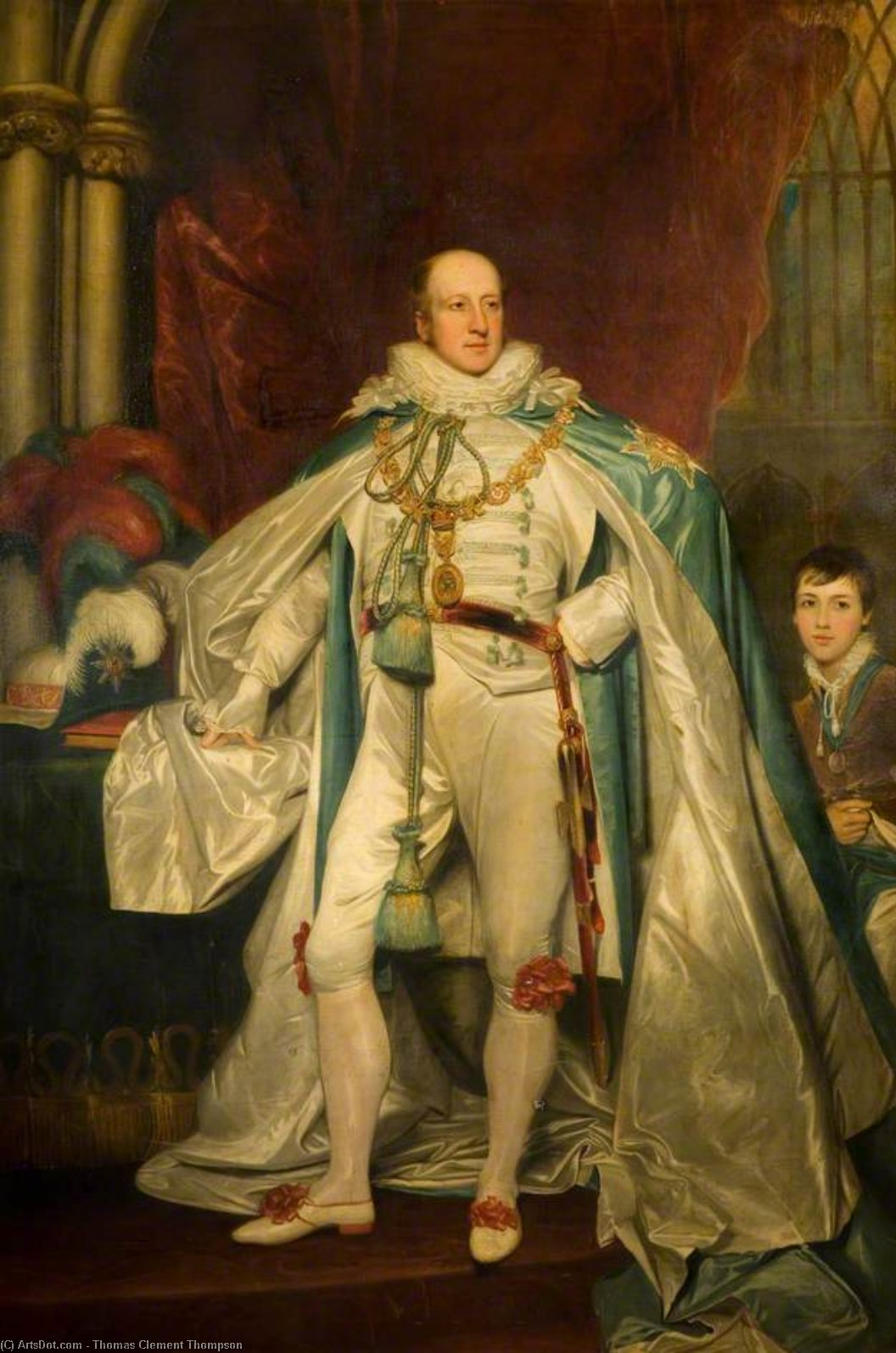 Charles Chetwynd by Thomas Clement Thompson | Art Reproduction | ArtsDot.com