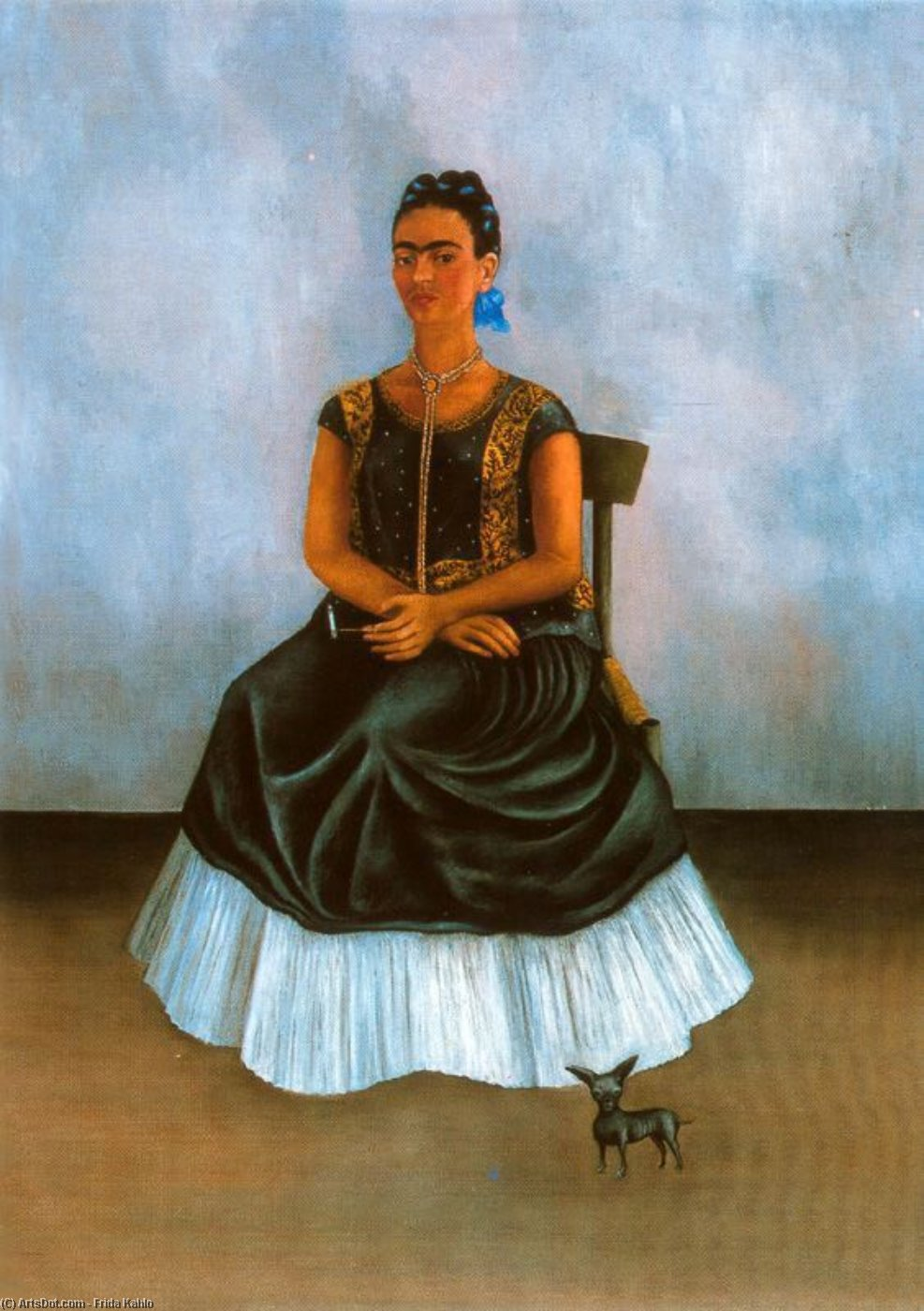 untitled (2163) by Frida Kahlo (1907-1954, Mexico)