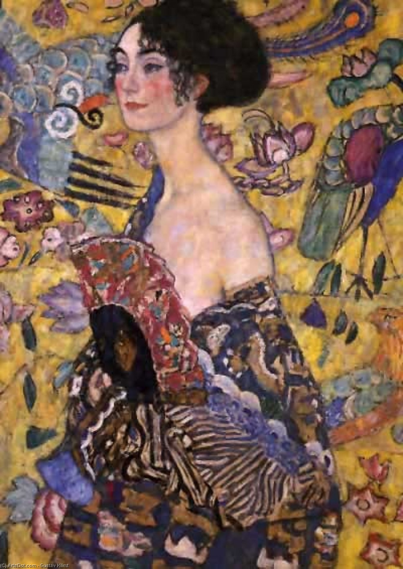untitled (4660) by Gustav Klimt (1862-1918, Austria) | Museum Art Reproductions | ArtsDot.com