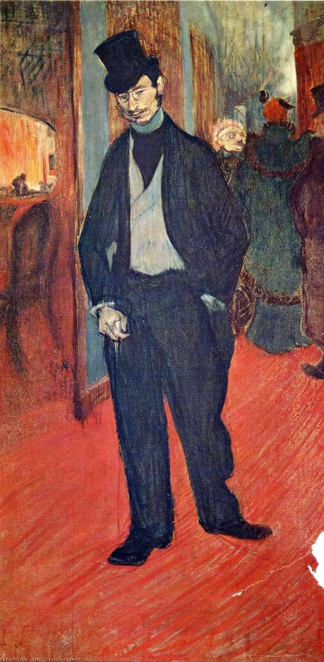 untitled (5131) by Henri De Toulouse Lautrec (1864-1901, France)