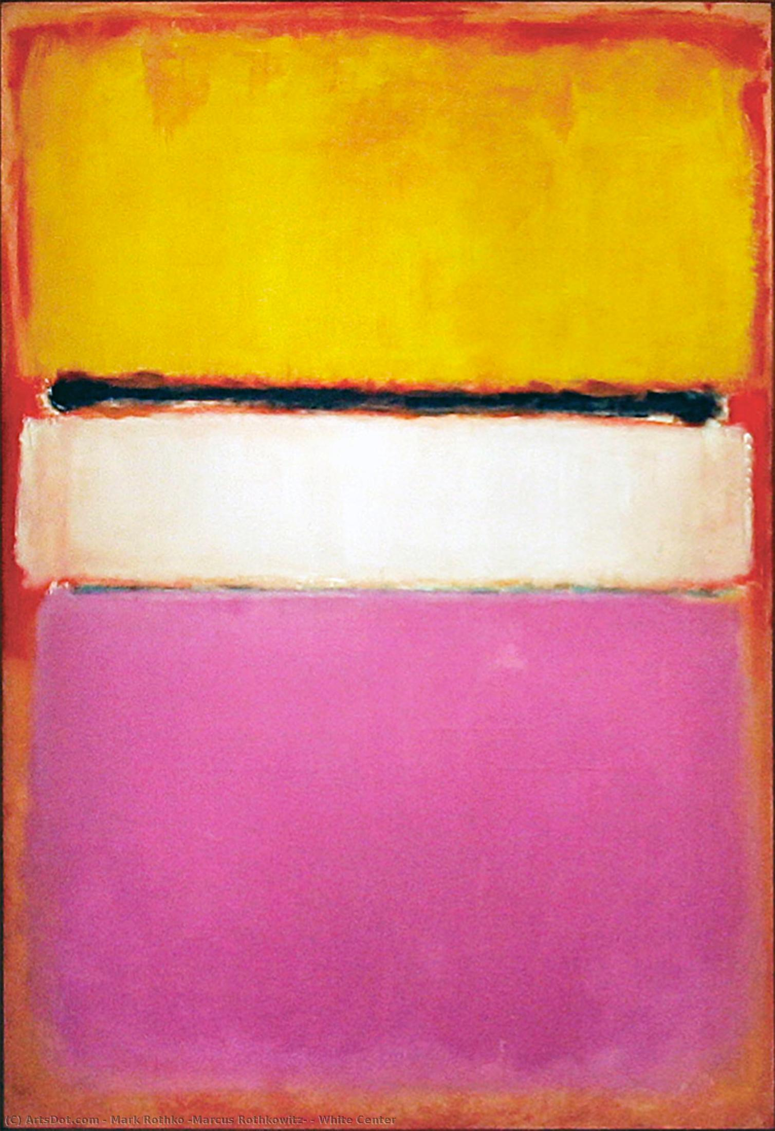 White Center, 1950 by Mark Rothko (Marcus Rothkowitz) (1903-1970, Latvia) |  | ArtsDot.com