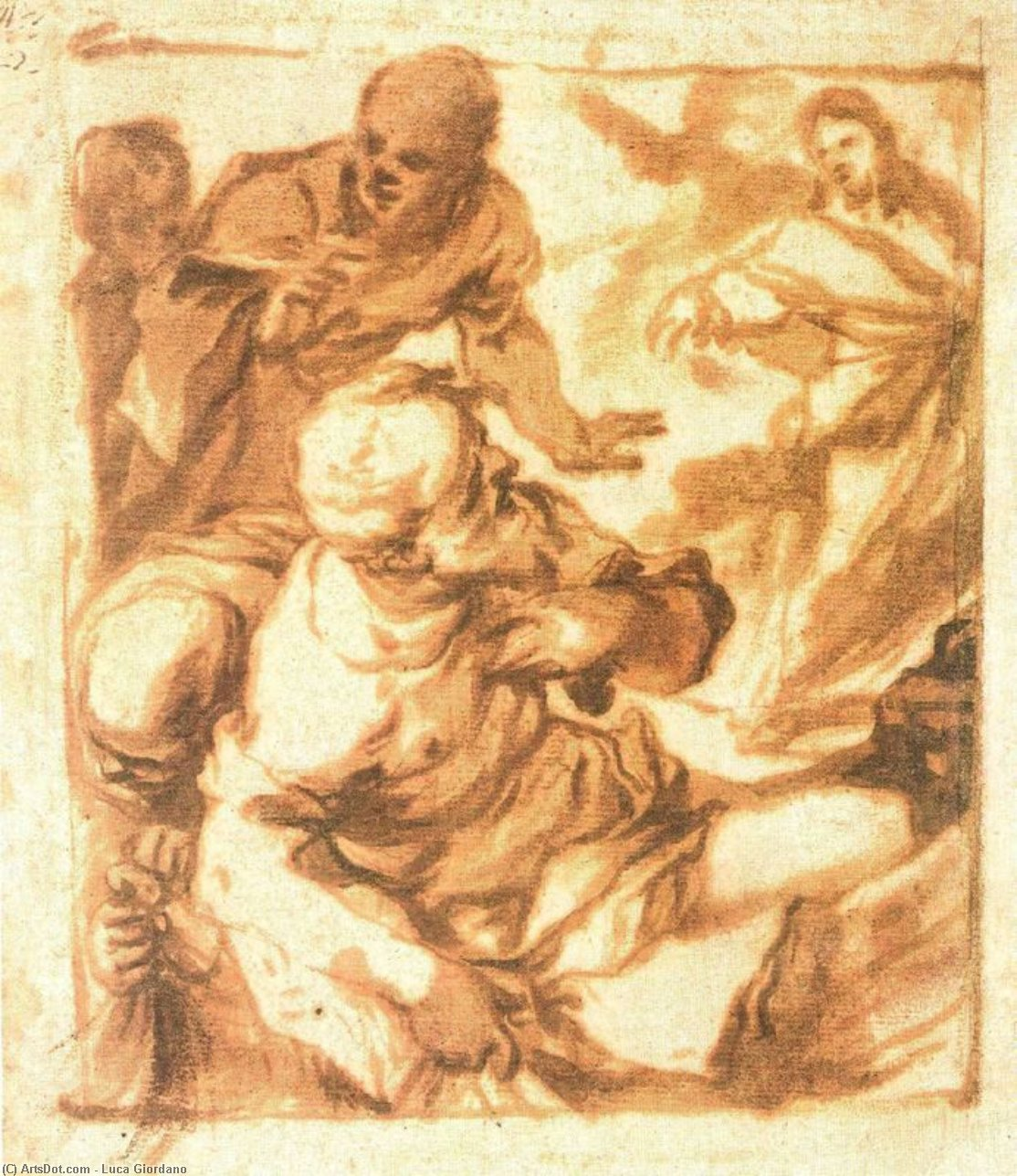 Calling of Saints Peter and Andrew by Luca Giordano (1634-1705, Italy)