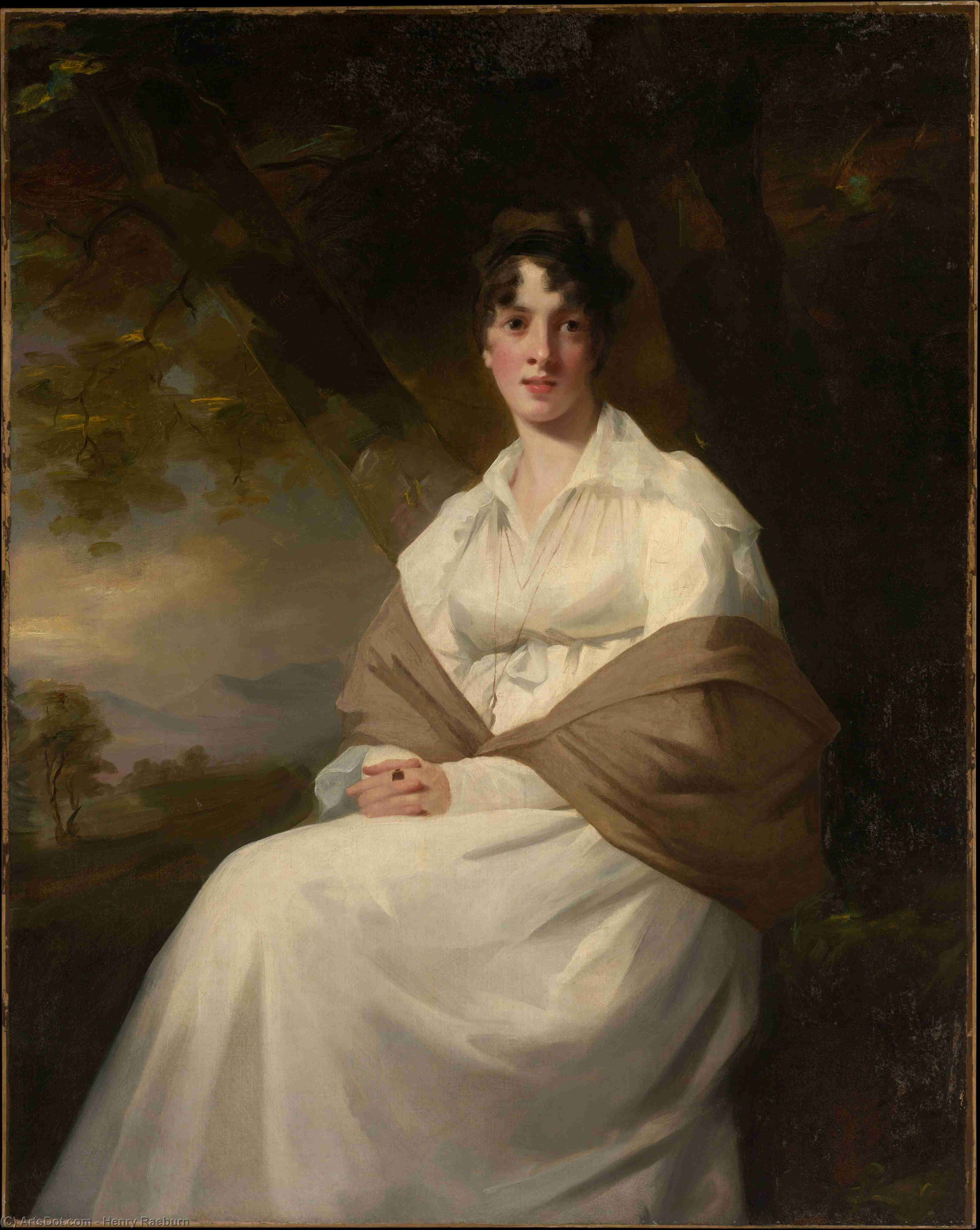 Lady Maitland (Catherine Connor) by Henry Raeburn (1756-1823, United Kingdom) | Museum Quality Reproductions | ArtsDot.com