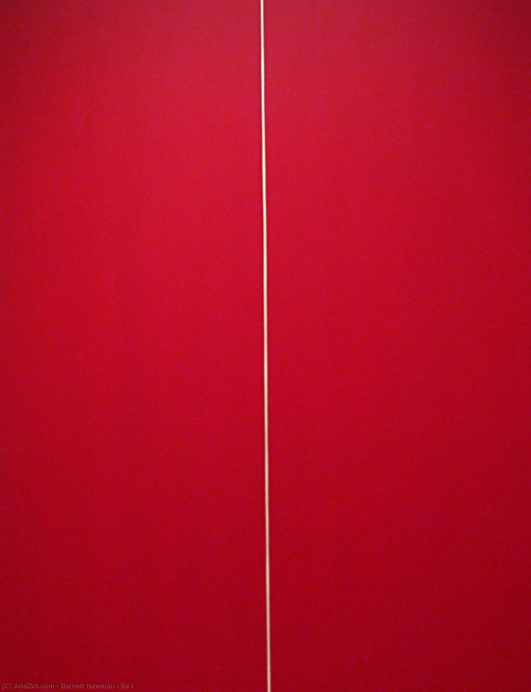 Be I, 1970 by Barnett Newman (1905-1970, United States) |  | ArtsDot.com