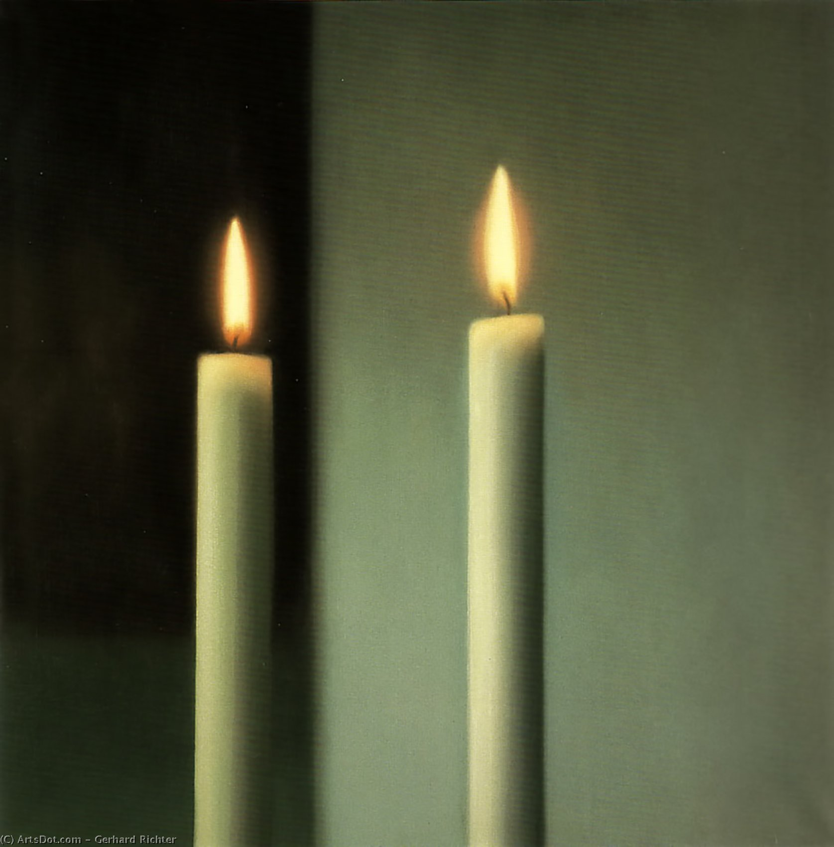 Candles by Gerhard Richter