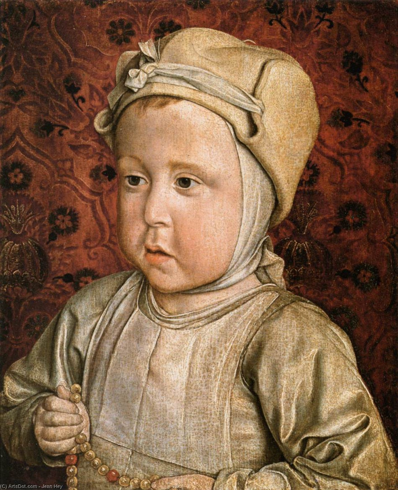 The Dauphin Charles Orlant, 1494 by Jean Hey | Museum Quality Reproductions | ArtsDot.com