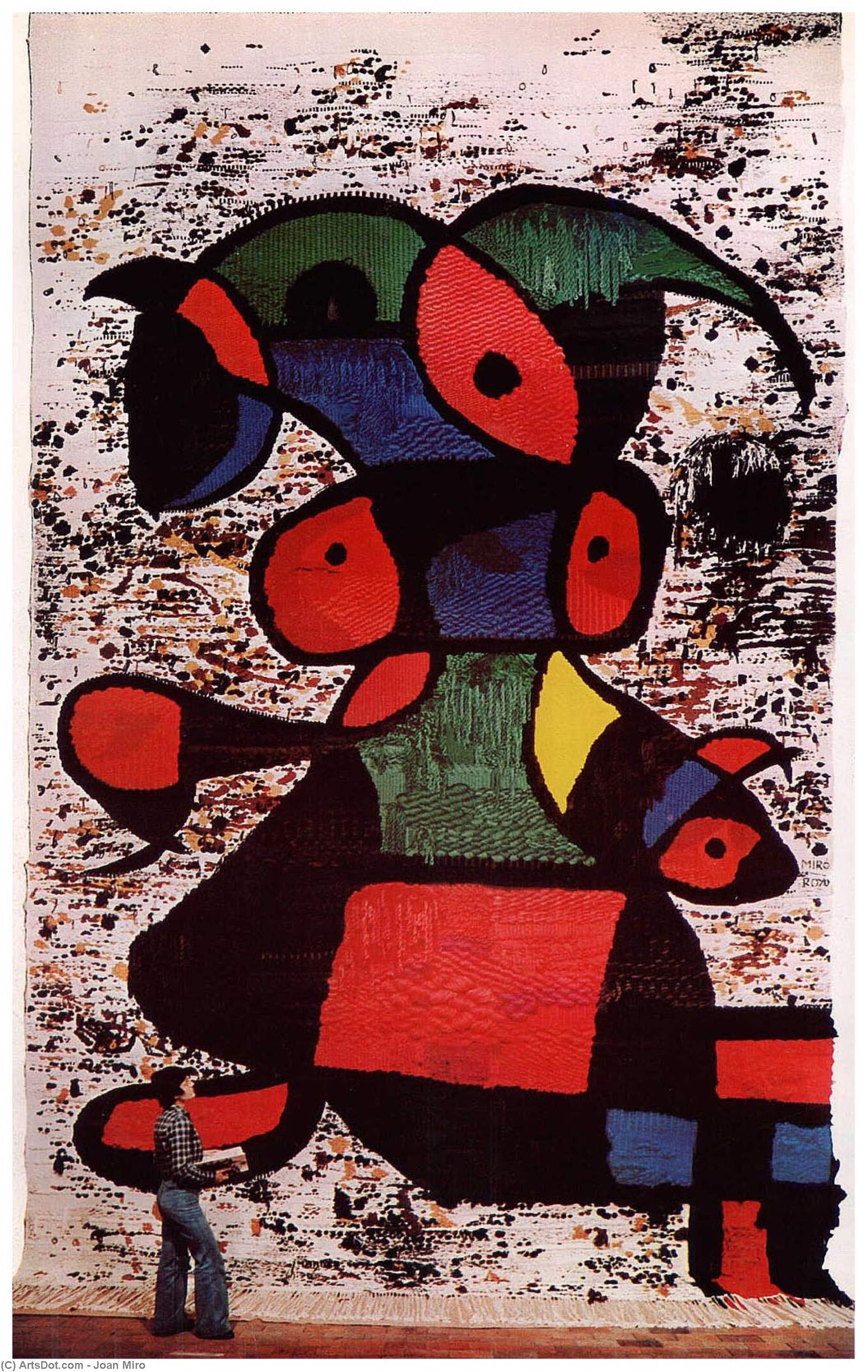 Donna (Wall), 1977 by Joan Miro (1893-1983, Spain)