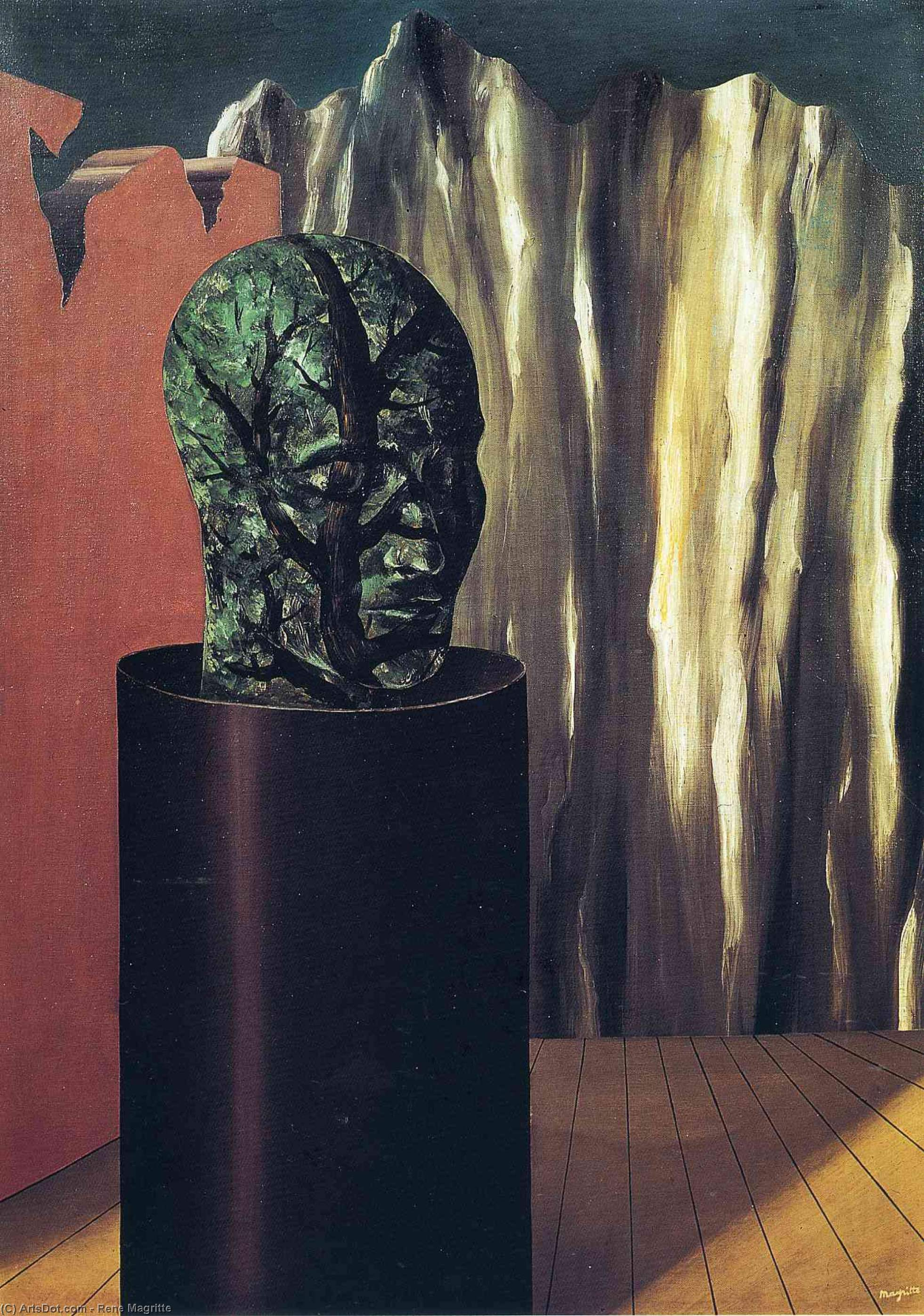 The forest, 1927 by Rene Magritte (1898-1967, Belgium) | Museum Quality Reproductions | ArtsDot.com