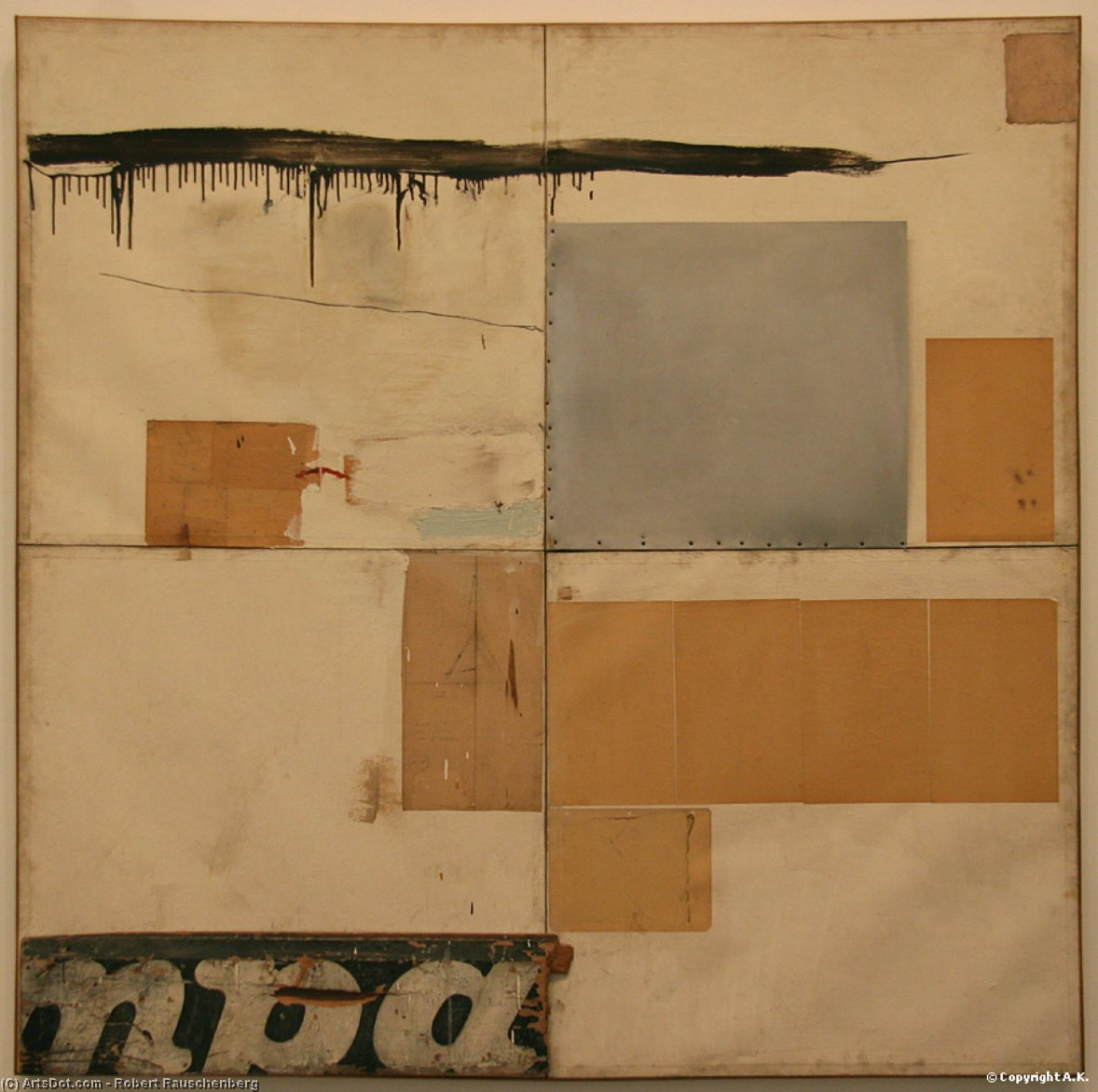 K 24976 S by Robert Rauschenberg (1925-2008, United States) | Museum Quality Reproductions | ArtsDot.com