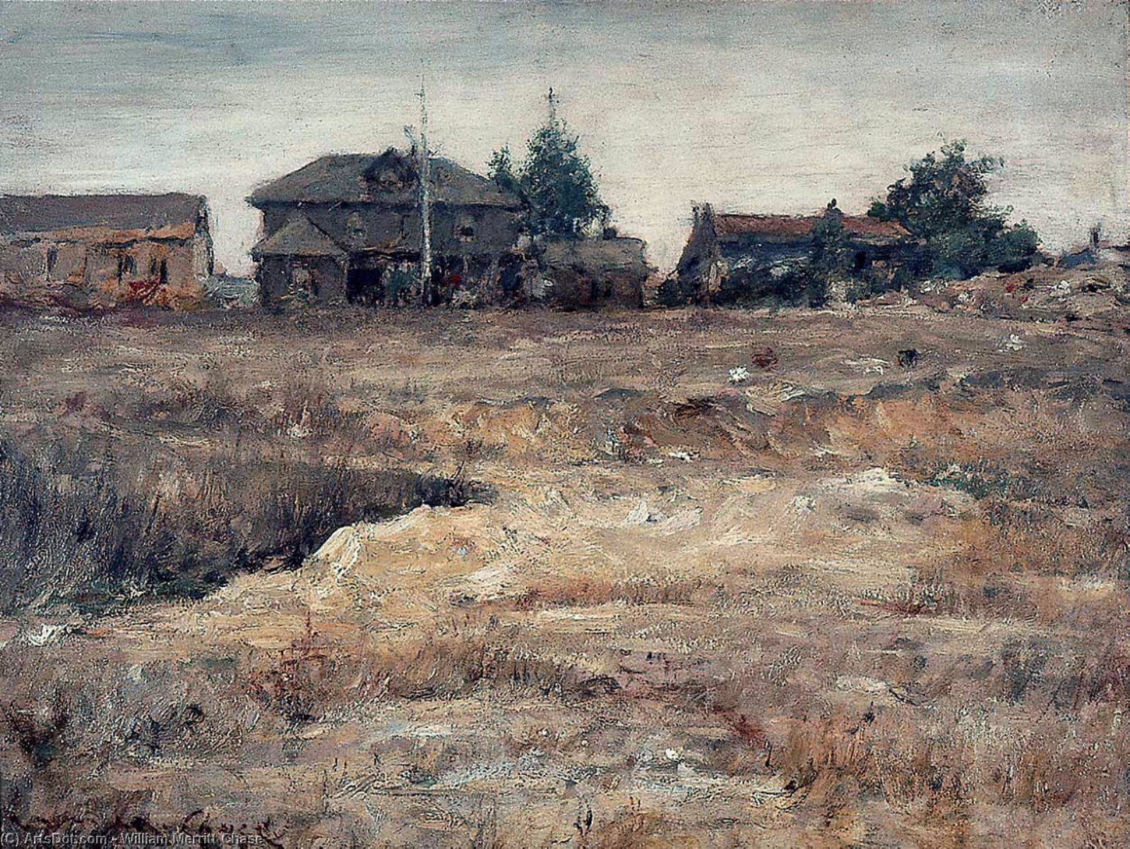 Monterey, California, 1914 by William Merritt Chase (1849-1916, United States)