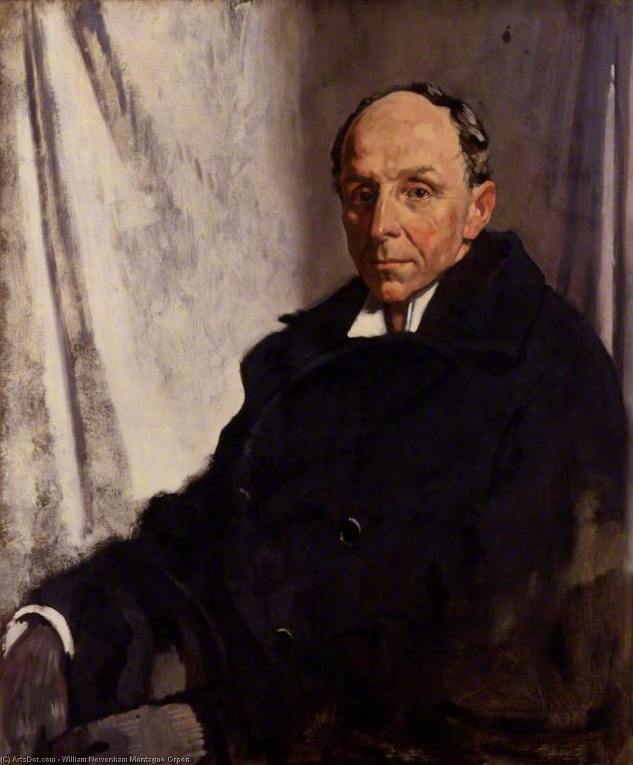 Edgar Algernon Robert Gascoyne-cecil, 1st Viscount Cecil Of Chelwood by William Newenham Montague Orpen (1878-1931, Ireland)