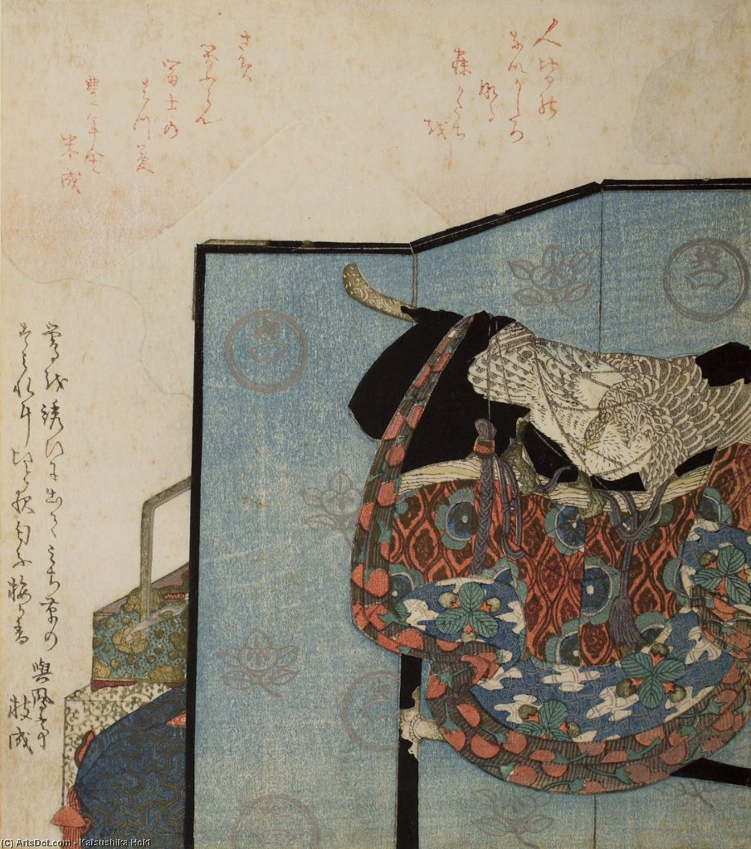 First Dream Of The New Year by Katsushika Hokusai (1760-1849, Japan)