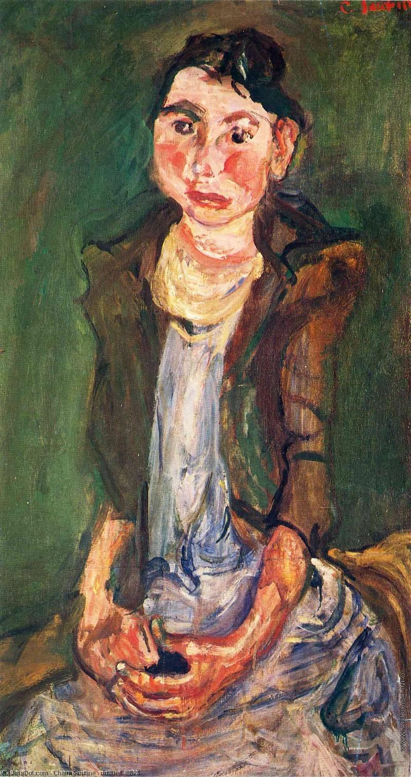untitled (8824) by Chaim Soutine (1893-1943, Russia) | Museum Art Reproductions Chaim Soutine | ArtsDot.com