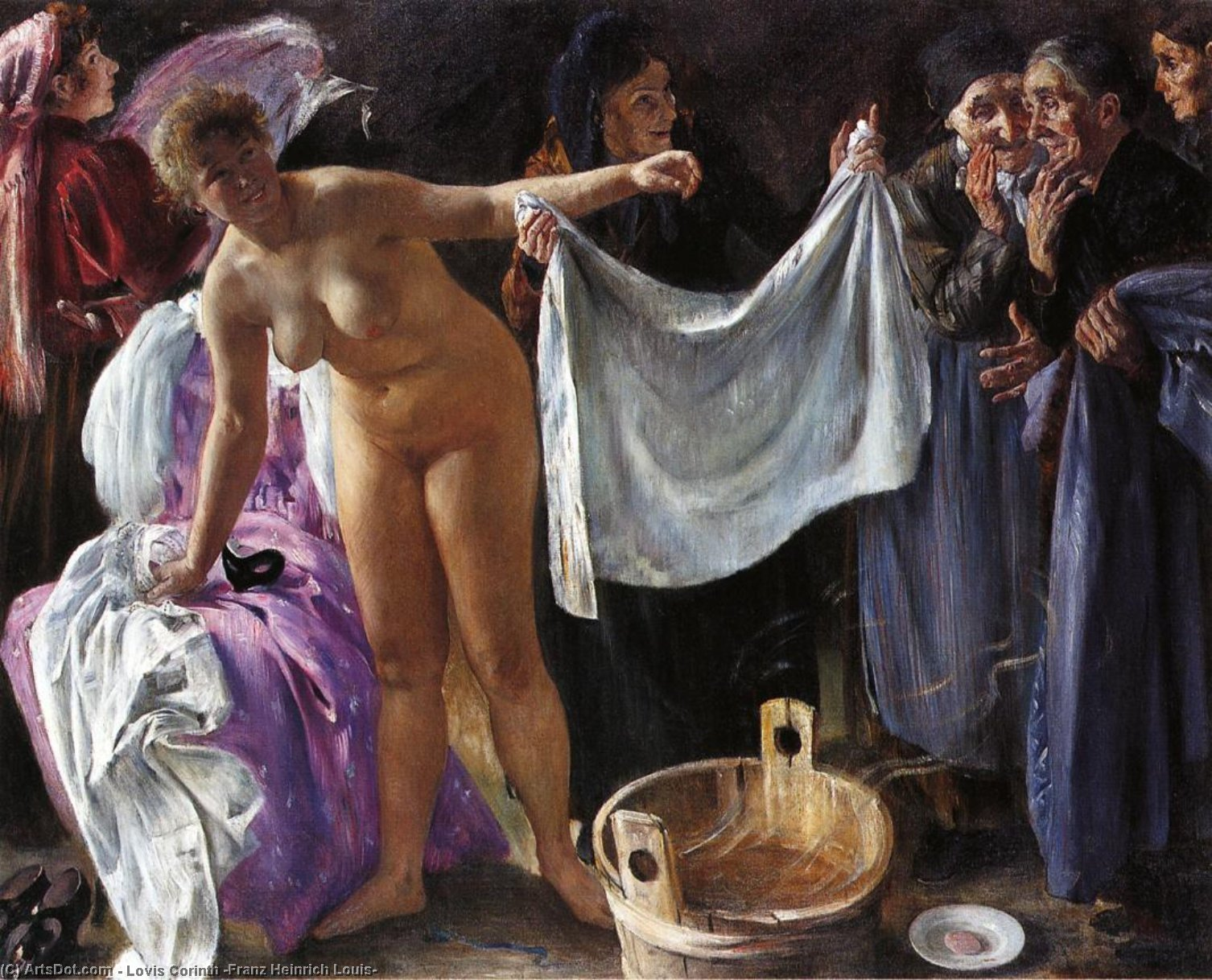 Witches, Oil On Canvas by Lovis Corinth (Franz Heinrich Louis) (1858-1925, Netherlands)