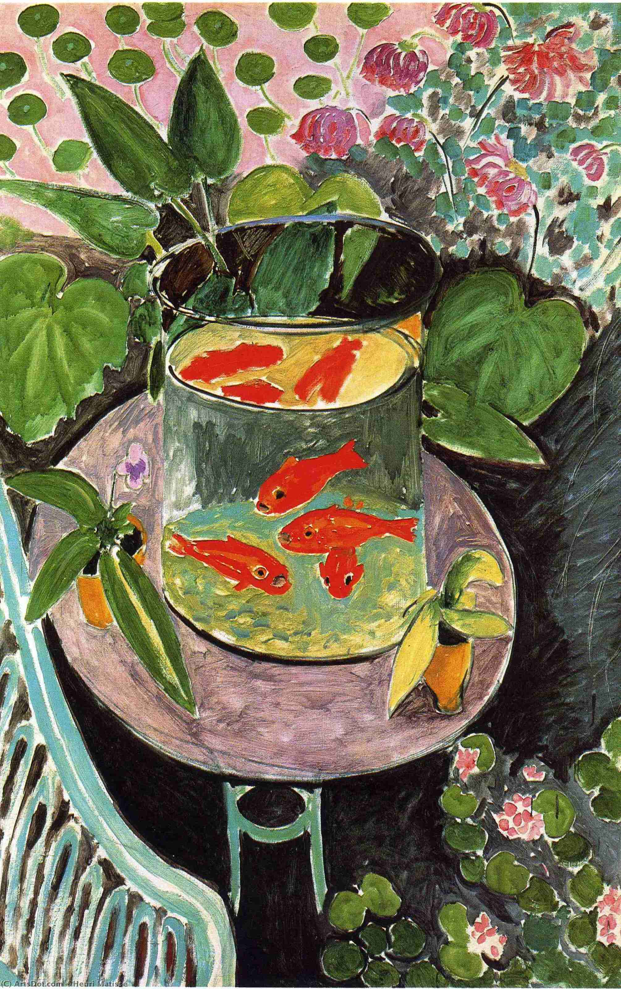 Goldfish, 1911 by Henri Matisse (1869-1954, France) |  | ArtsDot.com