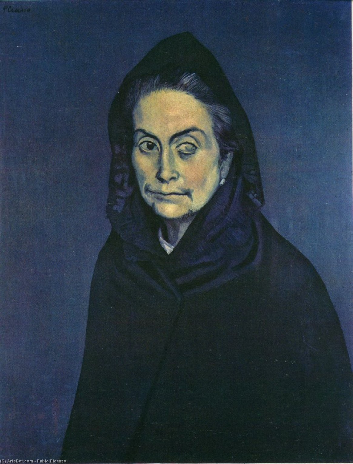 Order Museum Quality Copies | Celestina, 1904 by Pablo Picasso (1881-1973, Spain) | ArtsDot.com