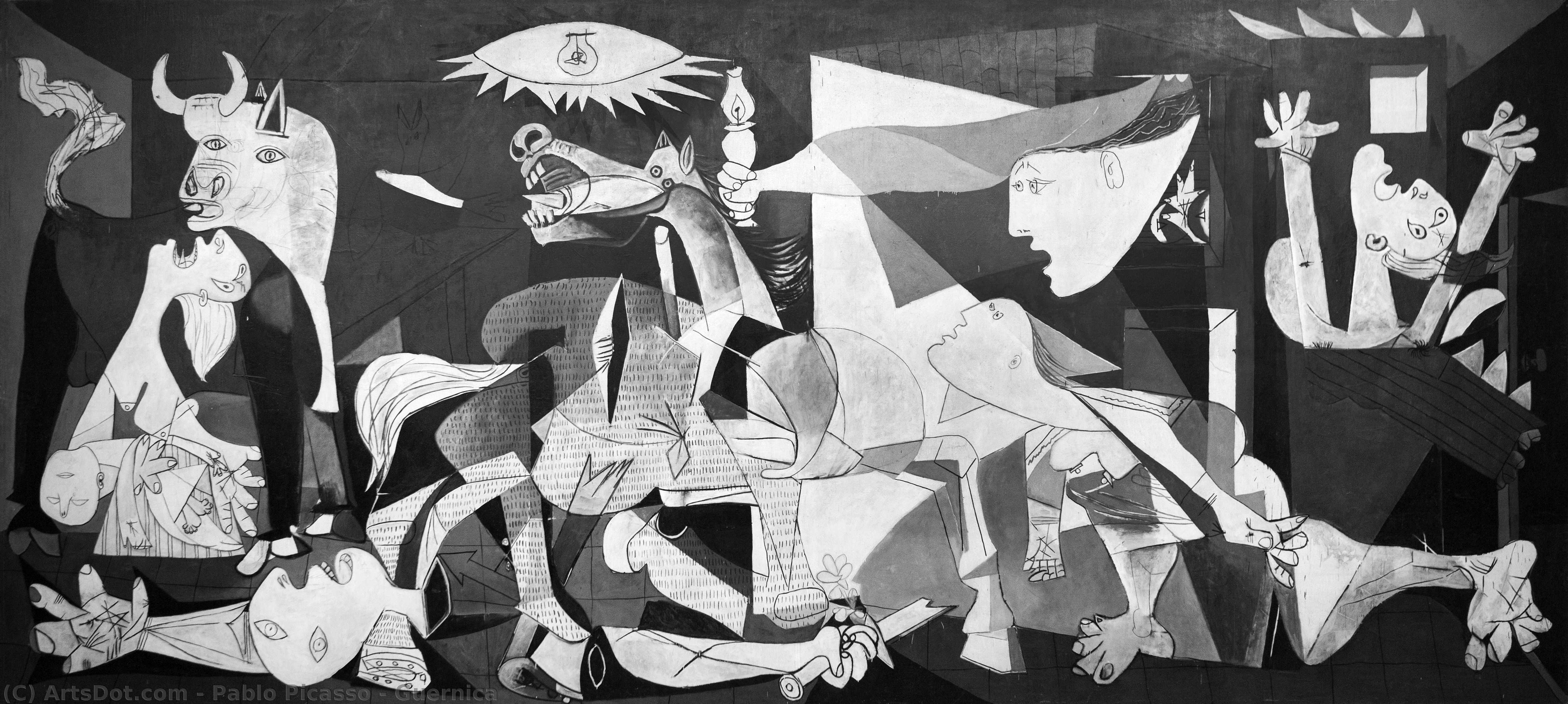 Order Art Reproduction : Guernica, 1937 by Pablo Picasso (1881-1973, Spain) | ArtsDot.com