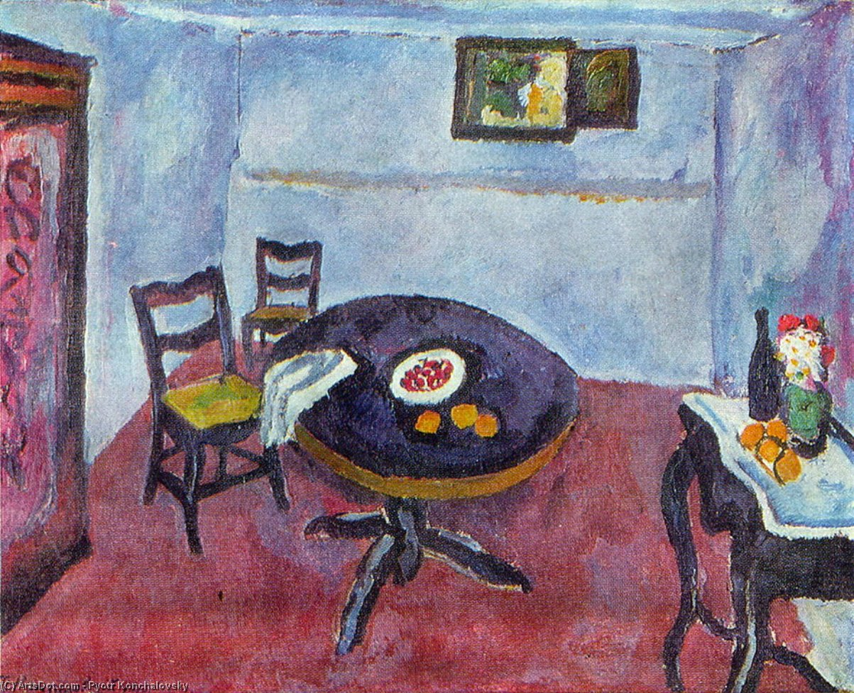 Room in Spain (Valencia), 1910 by Pyotr Konchalovsky (1876-1956, Russia)