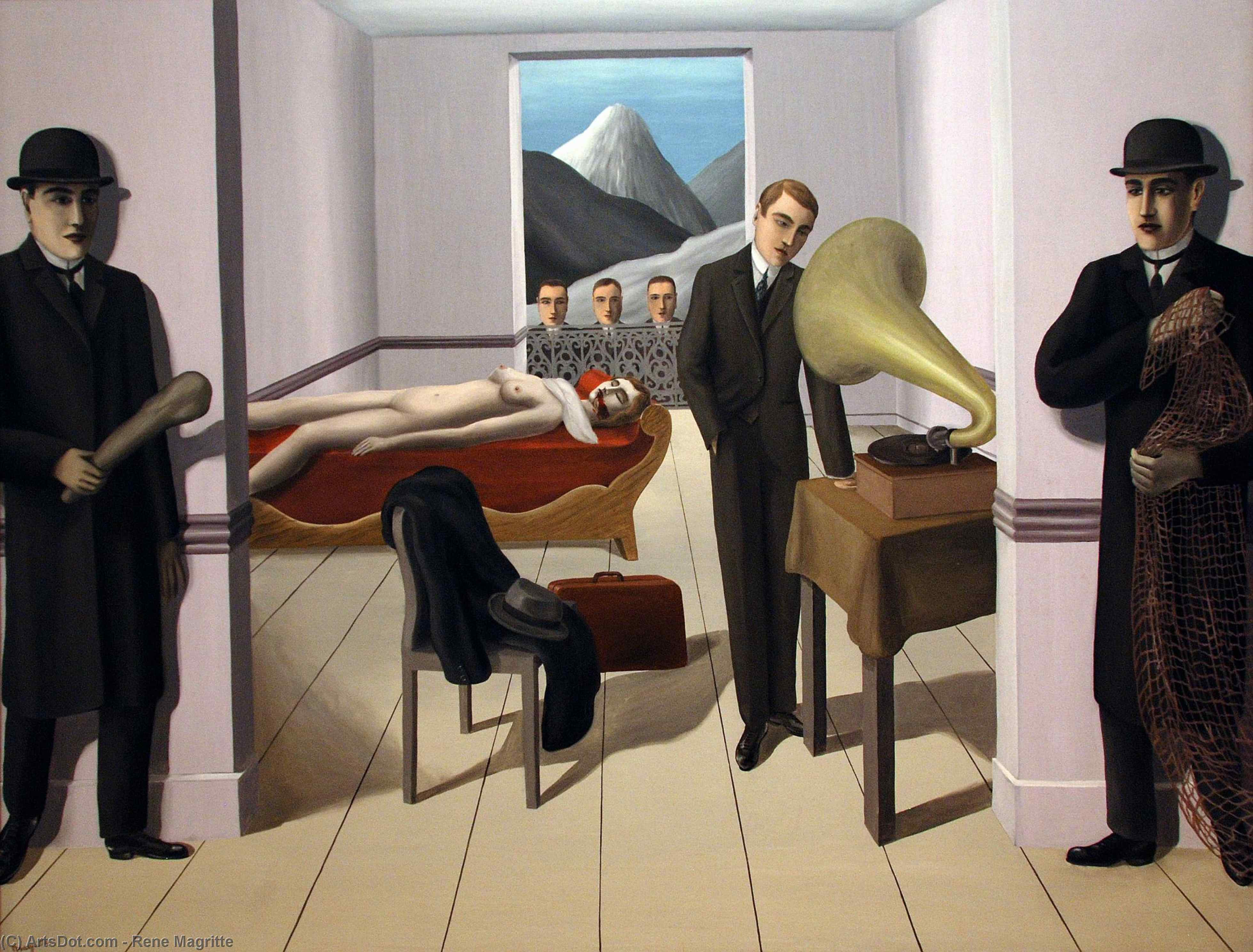 The Menaced Assassin, 1927 by Rene Magritte (1898-1967, Belgium) |  | ArtsDot.com