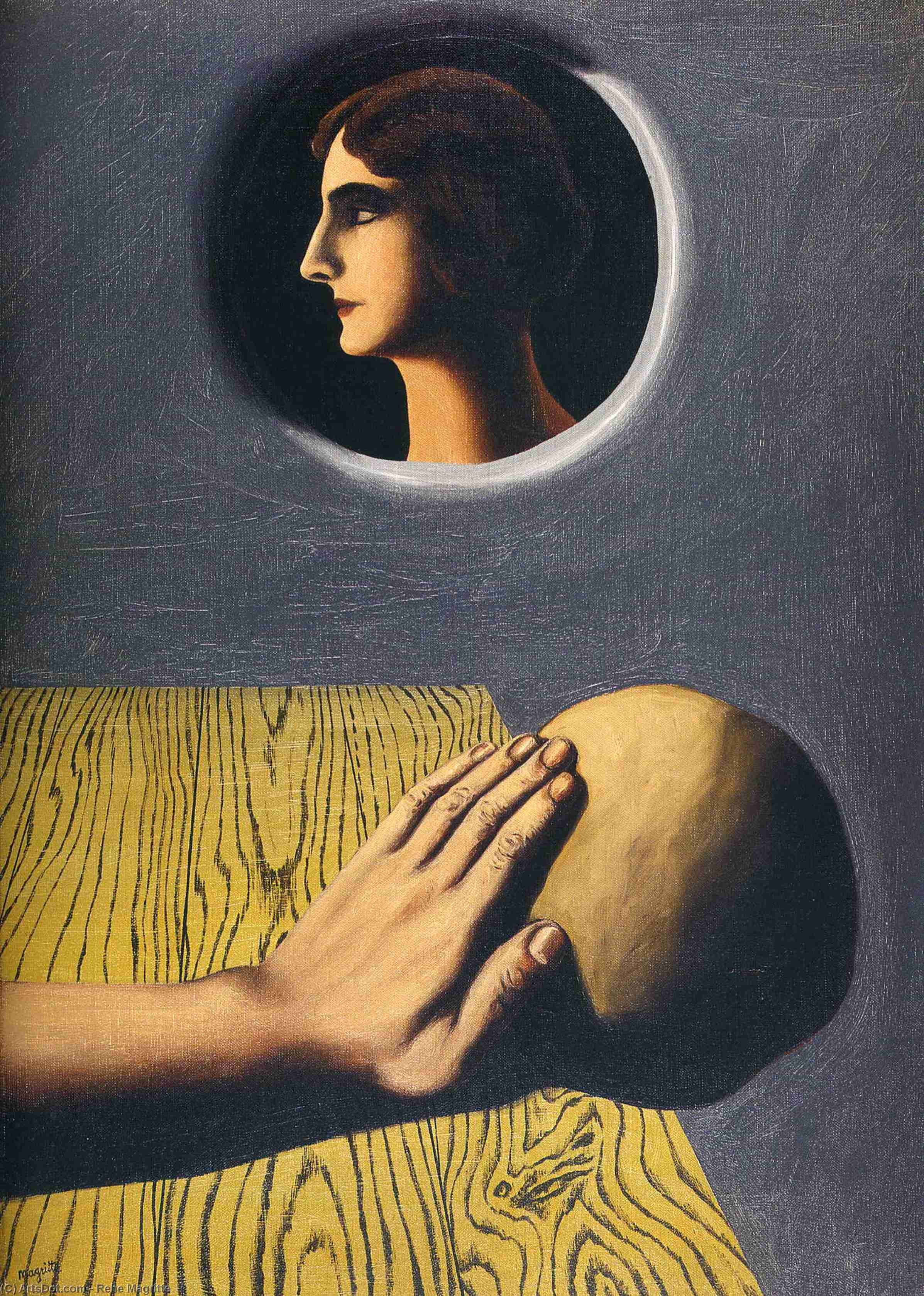 The beneficial promise, 1927 by Rene Magritte (1898-1967, Belgium) | ArtsDot.com
