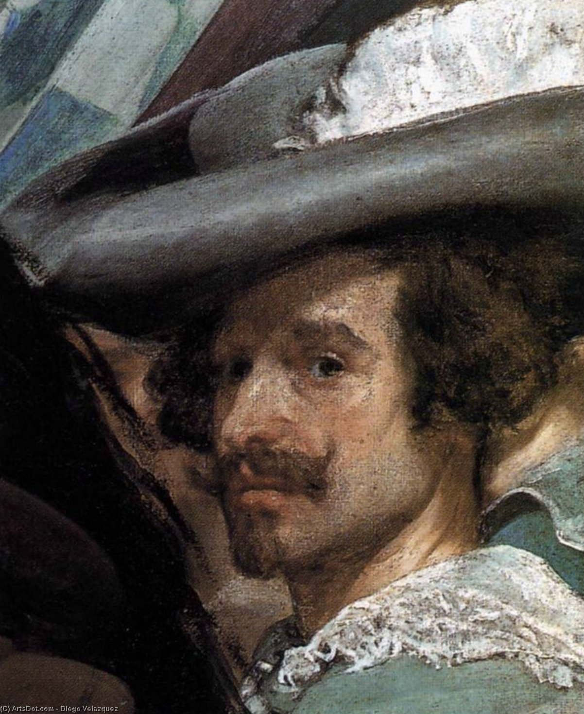 The Surrender of Breda (detail), Oil On Canvas by Diego Velazquez (1599-1660, Spain)