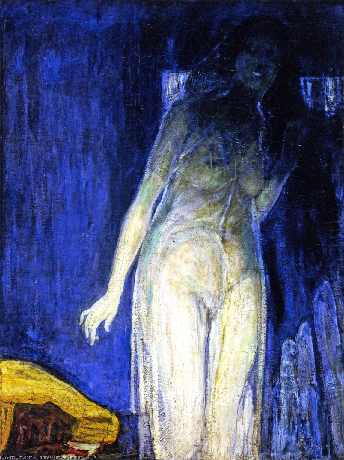 Salome, Oil On Canvas by Henry Ossawa Tanner (1859-1937, United States)