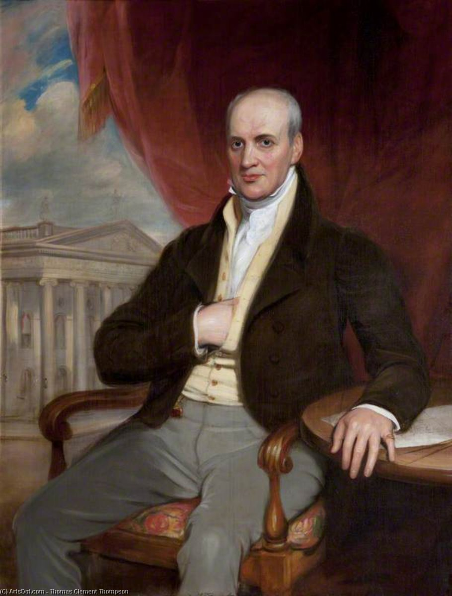Francis Johnston by Thomas Clement Thompson