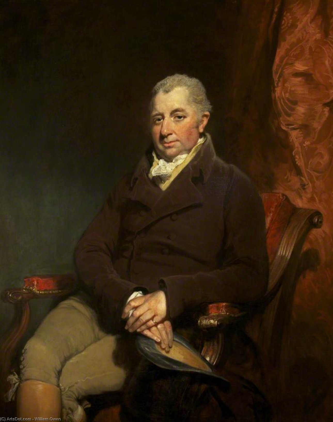 Sir Charles Gould Morgan-robinson by William Owen (1769-1825, United Kingdom)