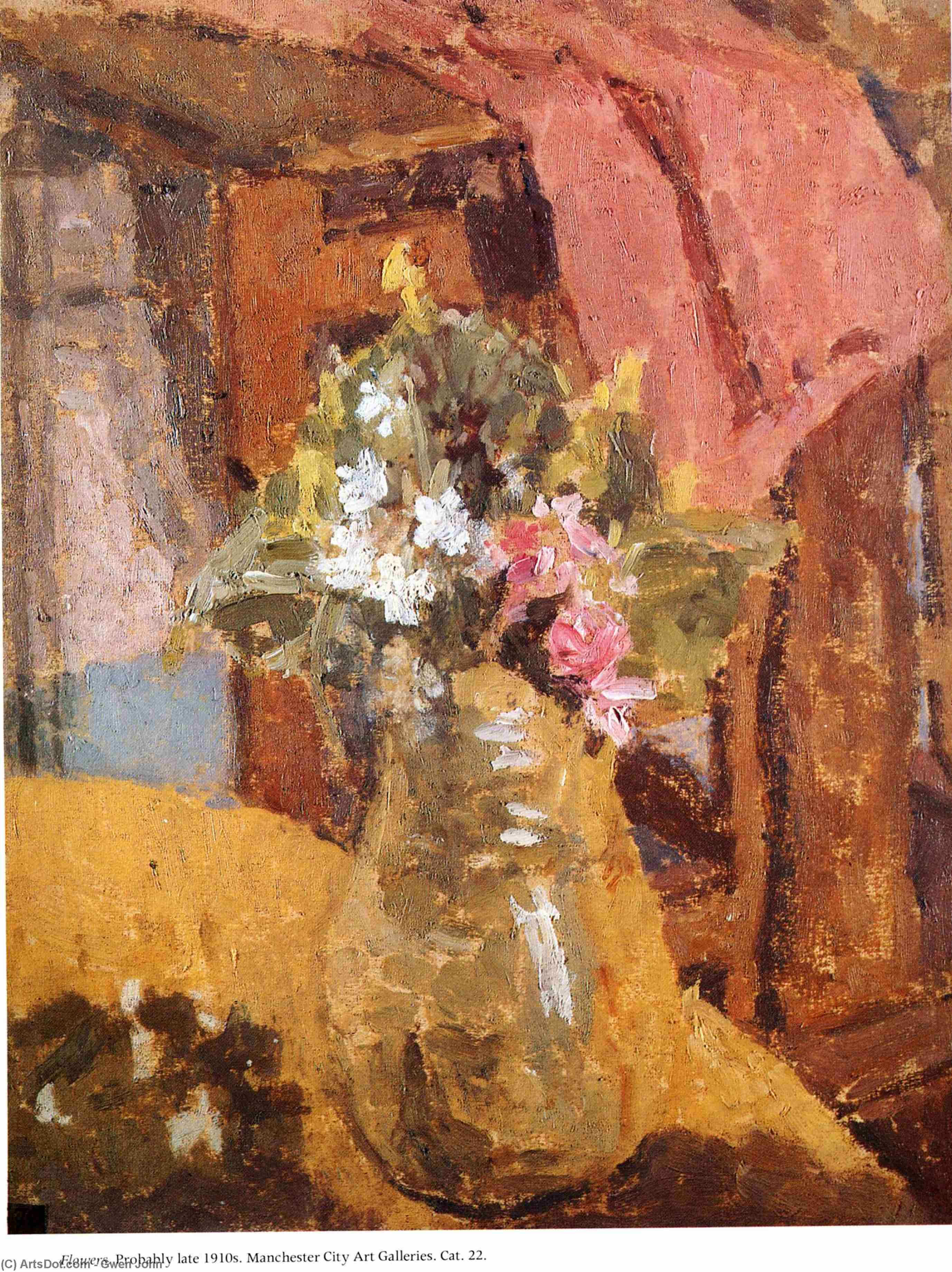 untitled (3026) by Gwen John (1876-1939, United States) | Oil Painting | ArtsDot.com