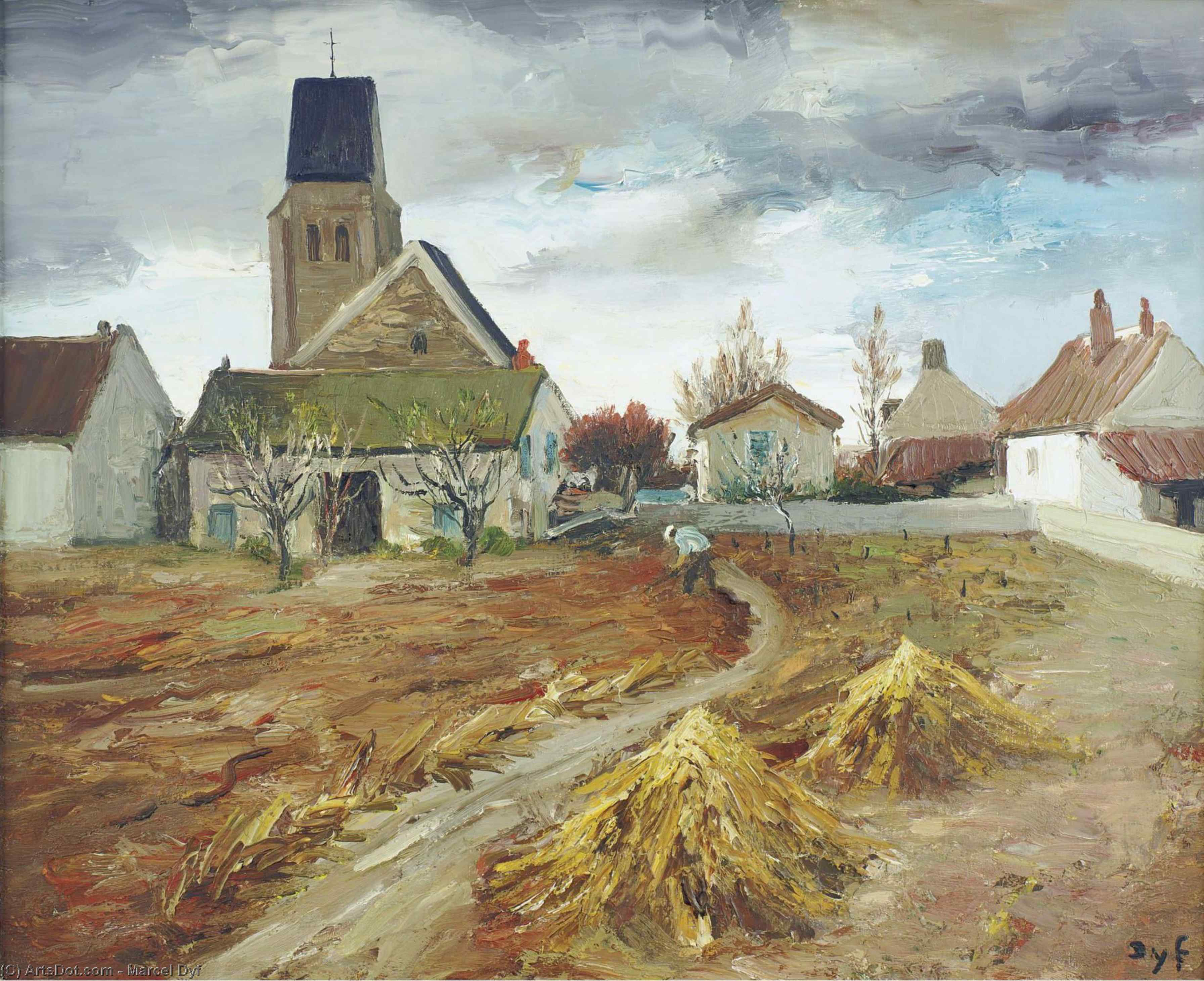 Bois d`Arcy by Marcel Dyf (1899-1985, France) | Oil Painting | ArtsDot.com
